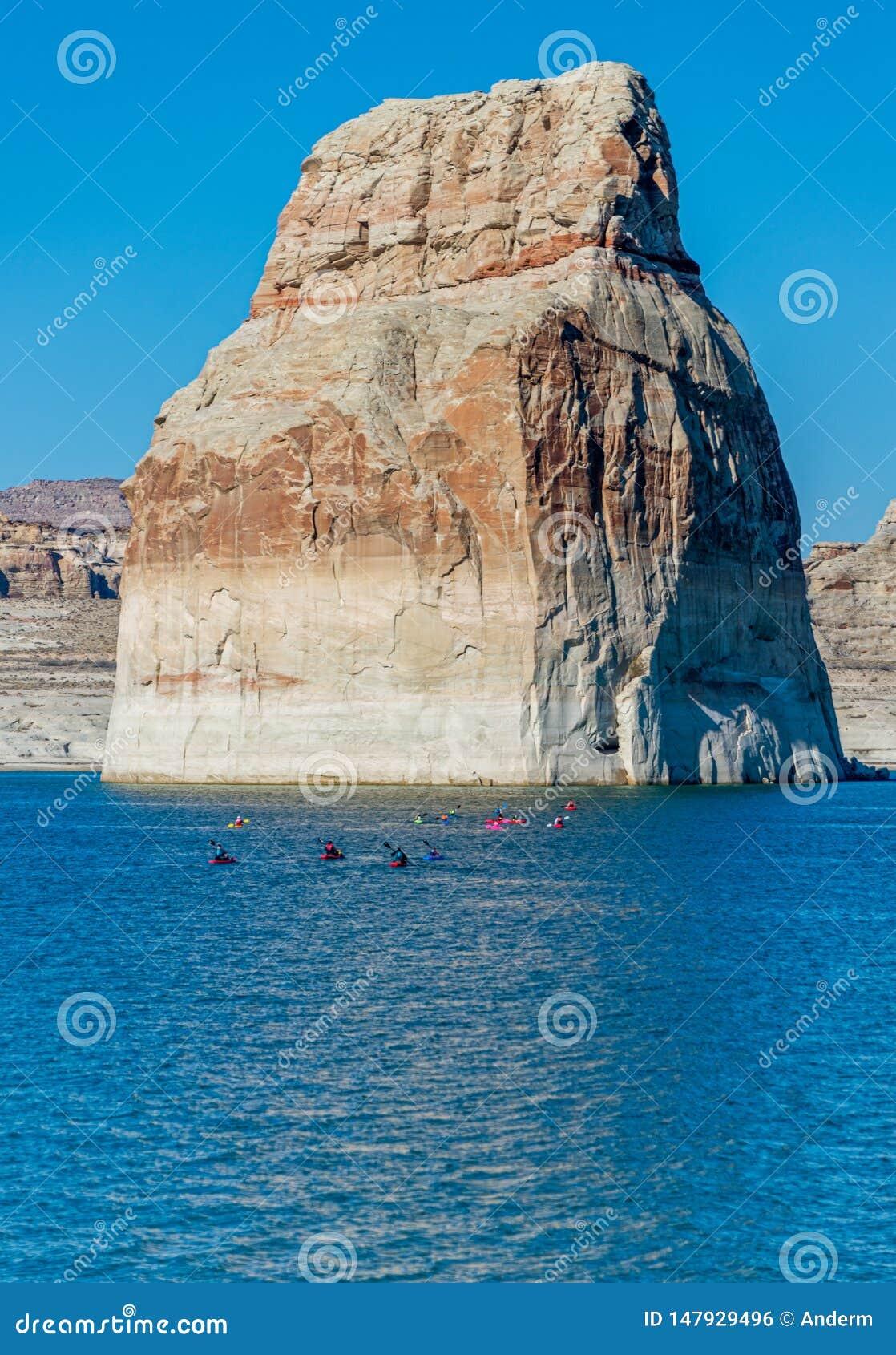 Озеро Пауэлл, страница, Аризона, Соединенные Штаты Америки