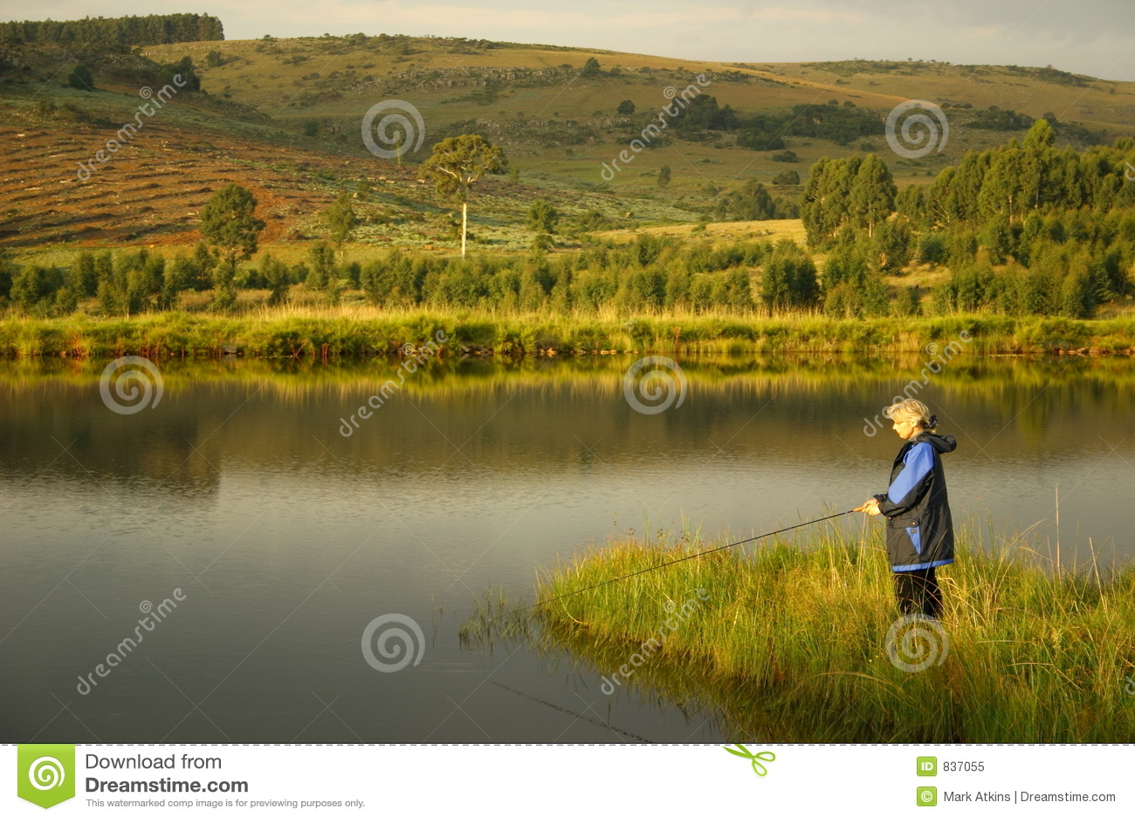 озеро повелительницы рыболовства