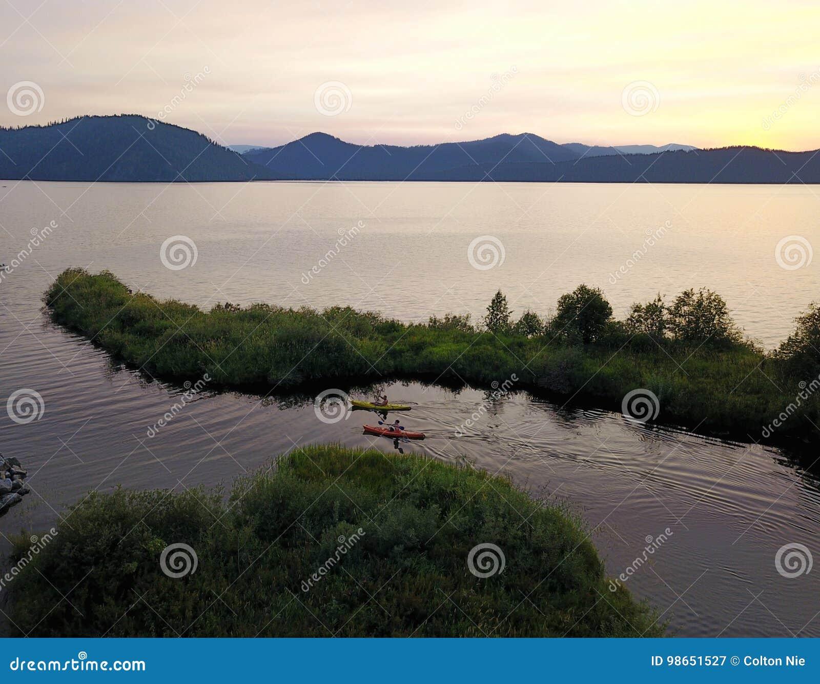 Озеро священник