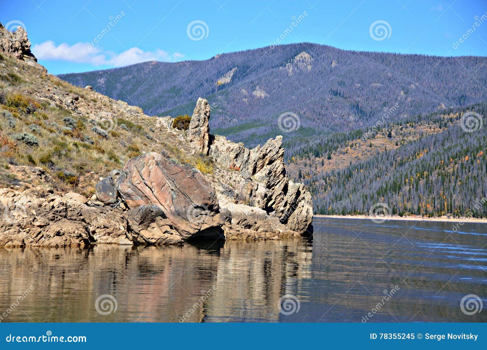 Озеро Granby, Колорадо