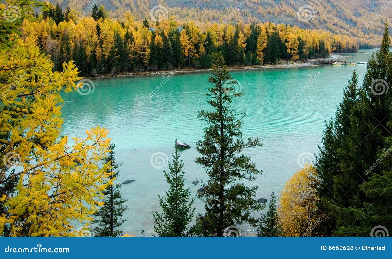 озеро kanas