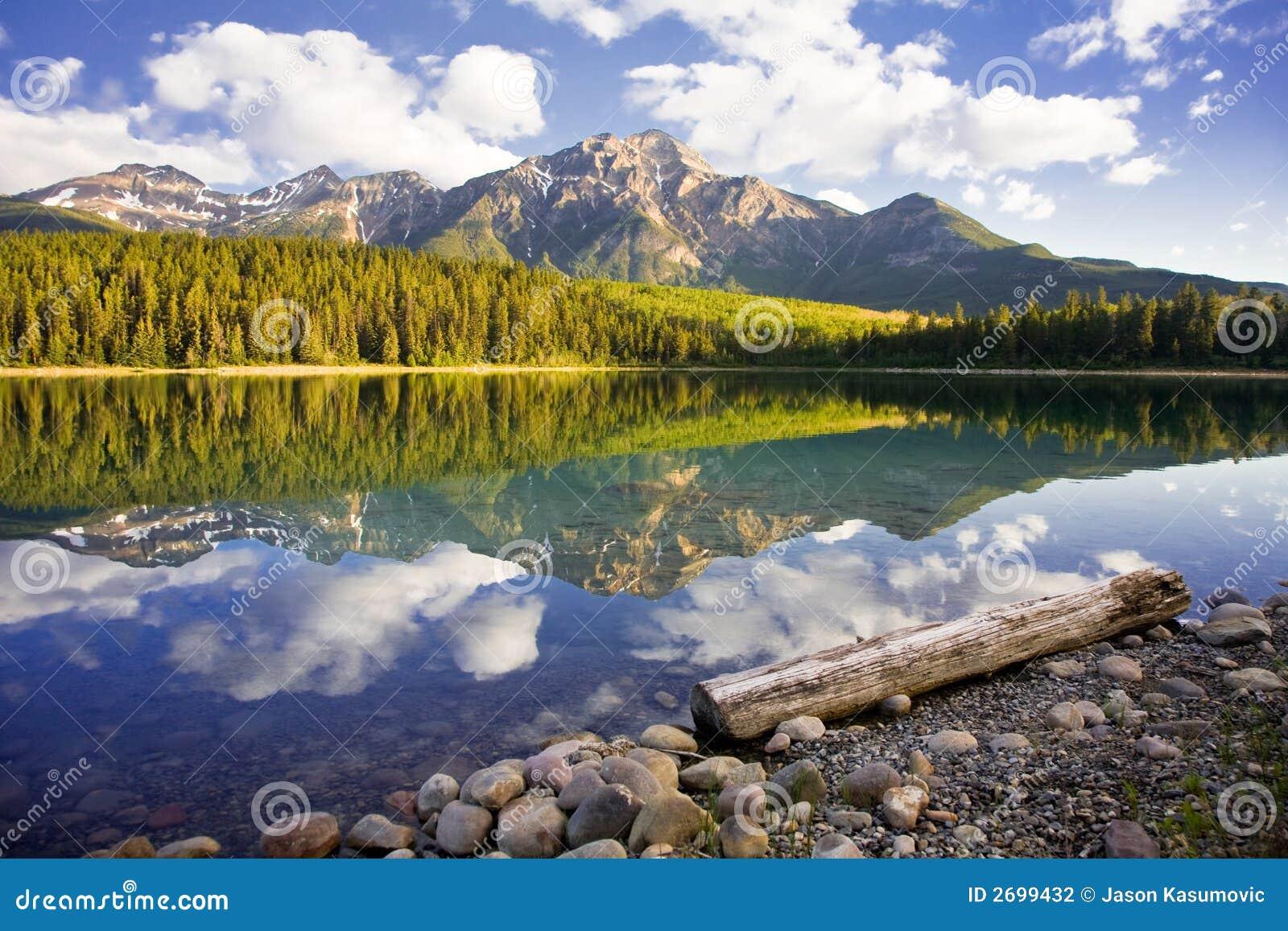 озеро patricia рассвета