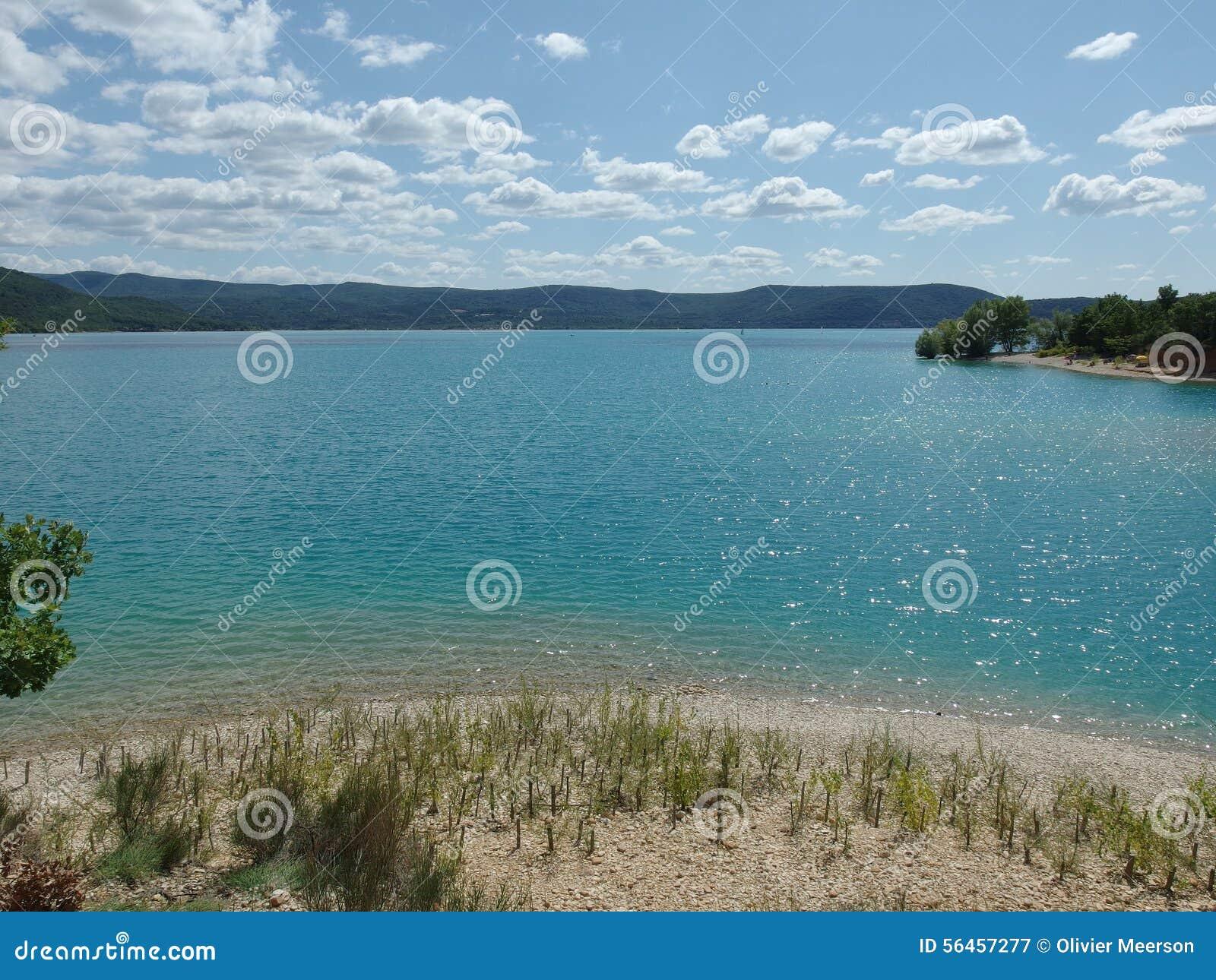 Озеро Sainte croix du verdon, Провансаль