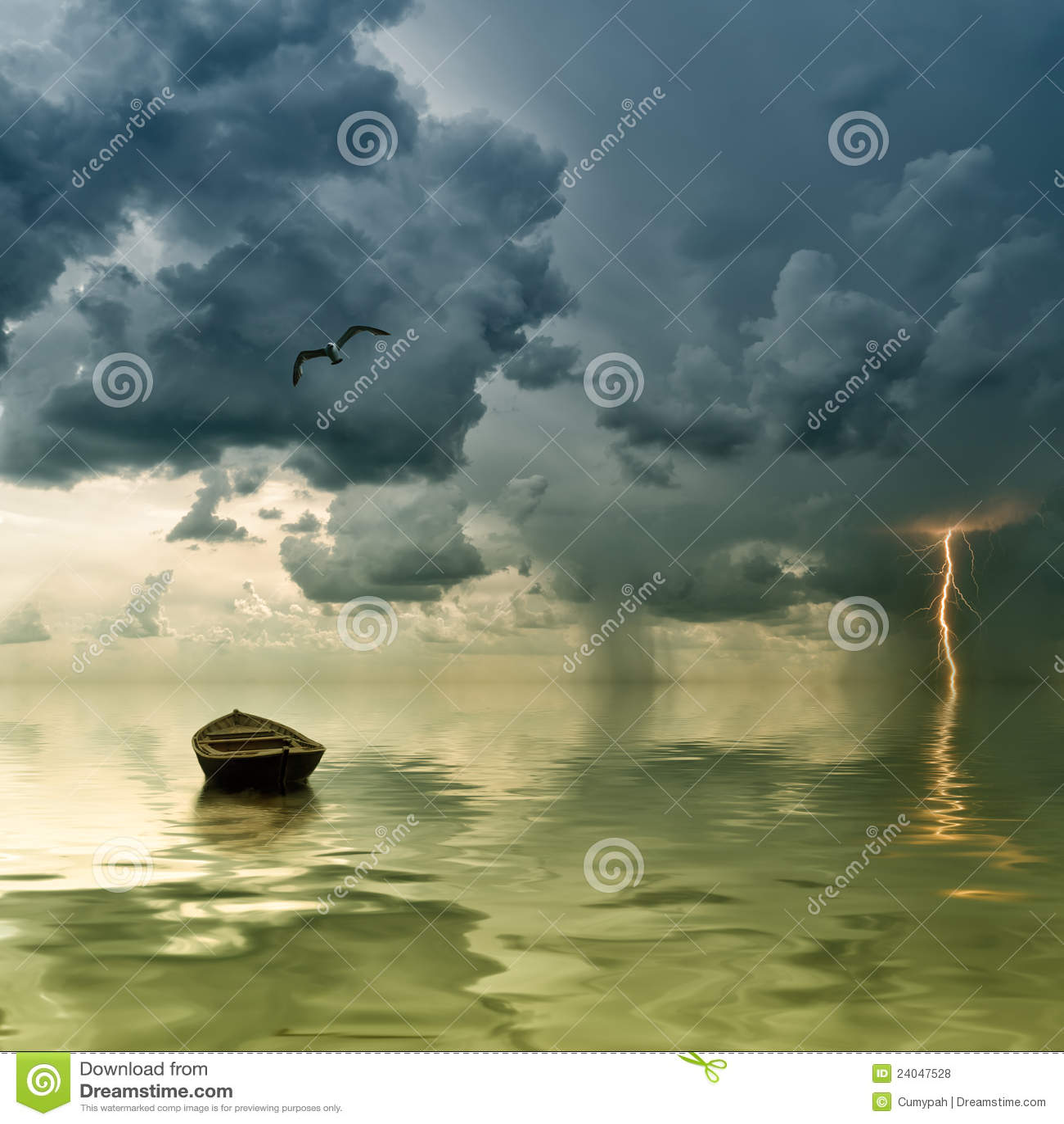океан шлюпки сиротливый старый