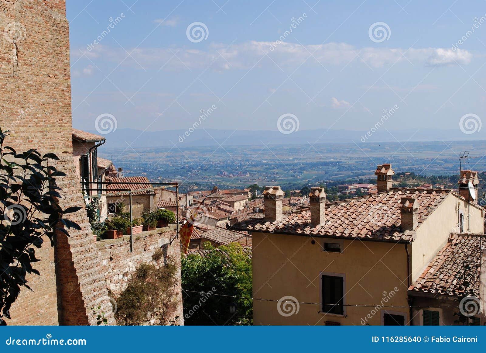 Окрестности Montepulciano
