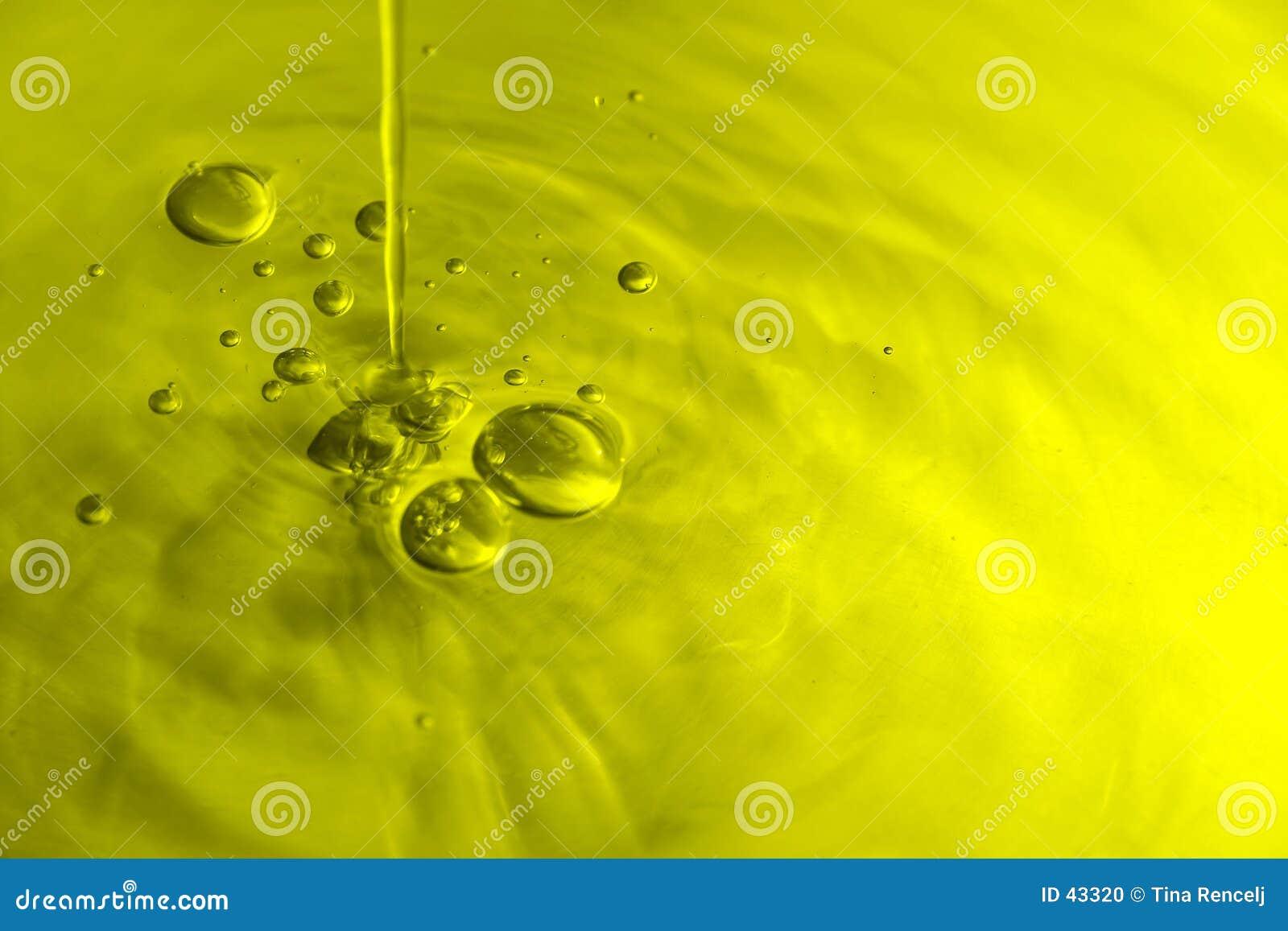 оливка масла пузырей