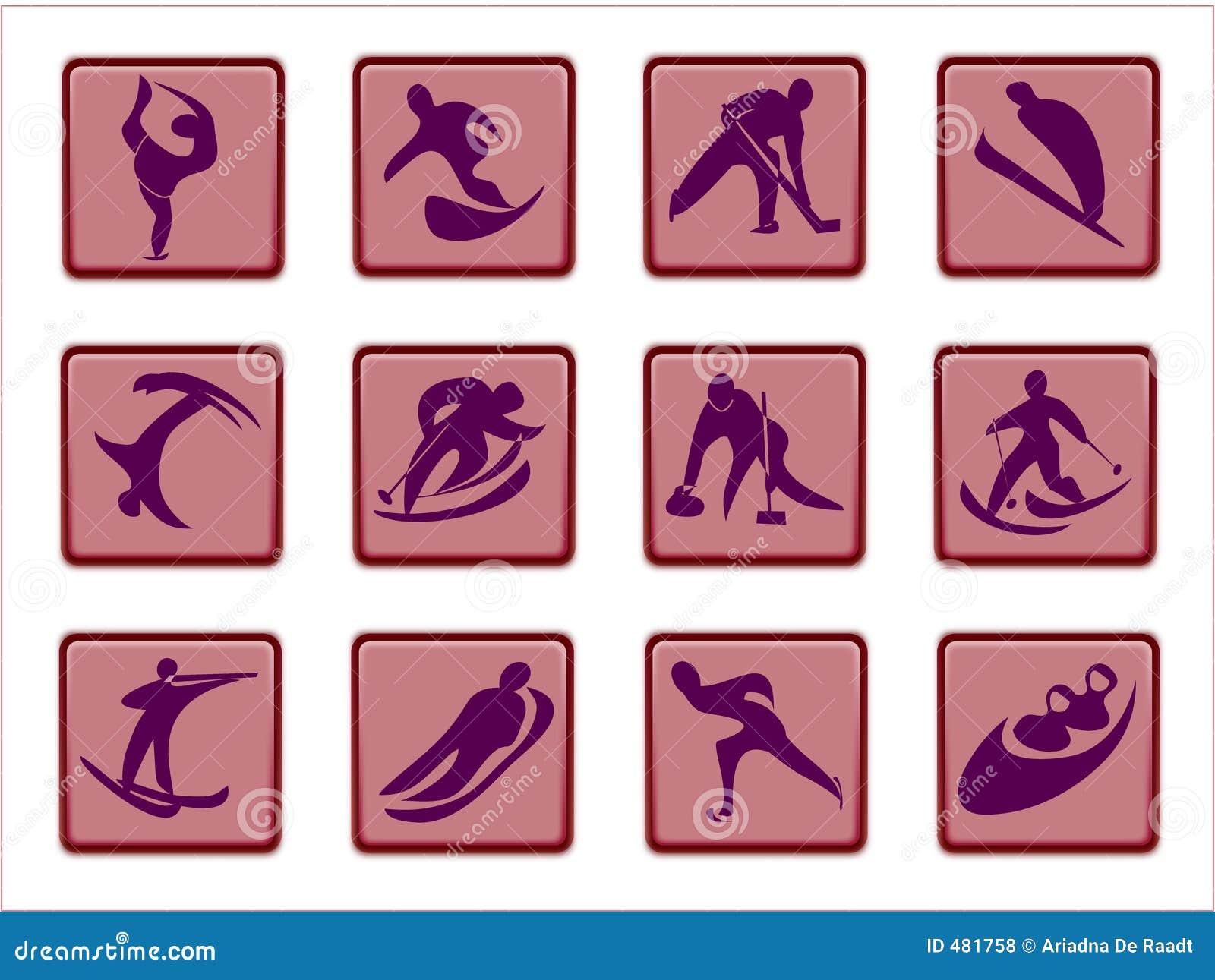 олимпийские pictograms