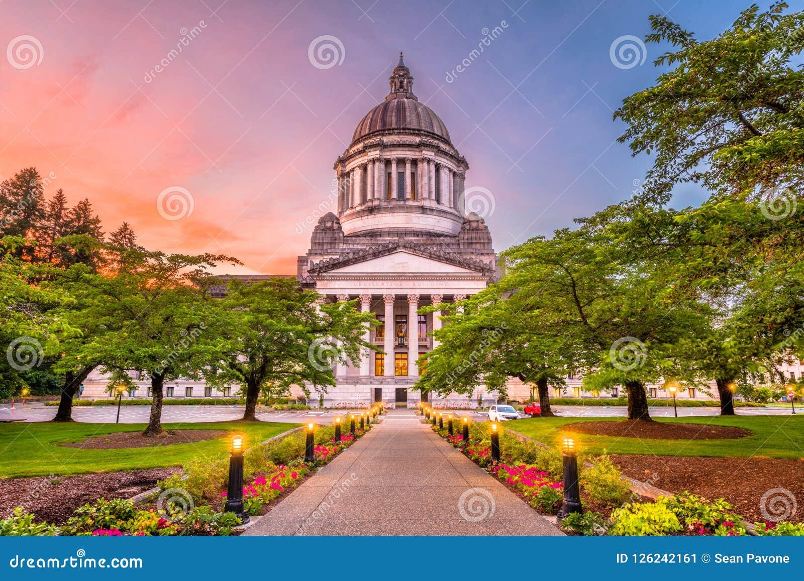 Олимпия, Вашингтон, капитолий положения США