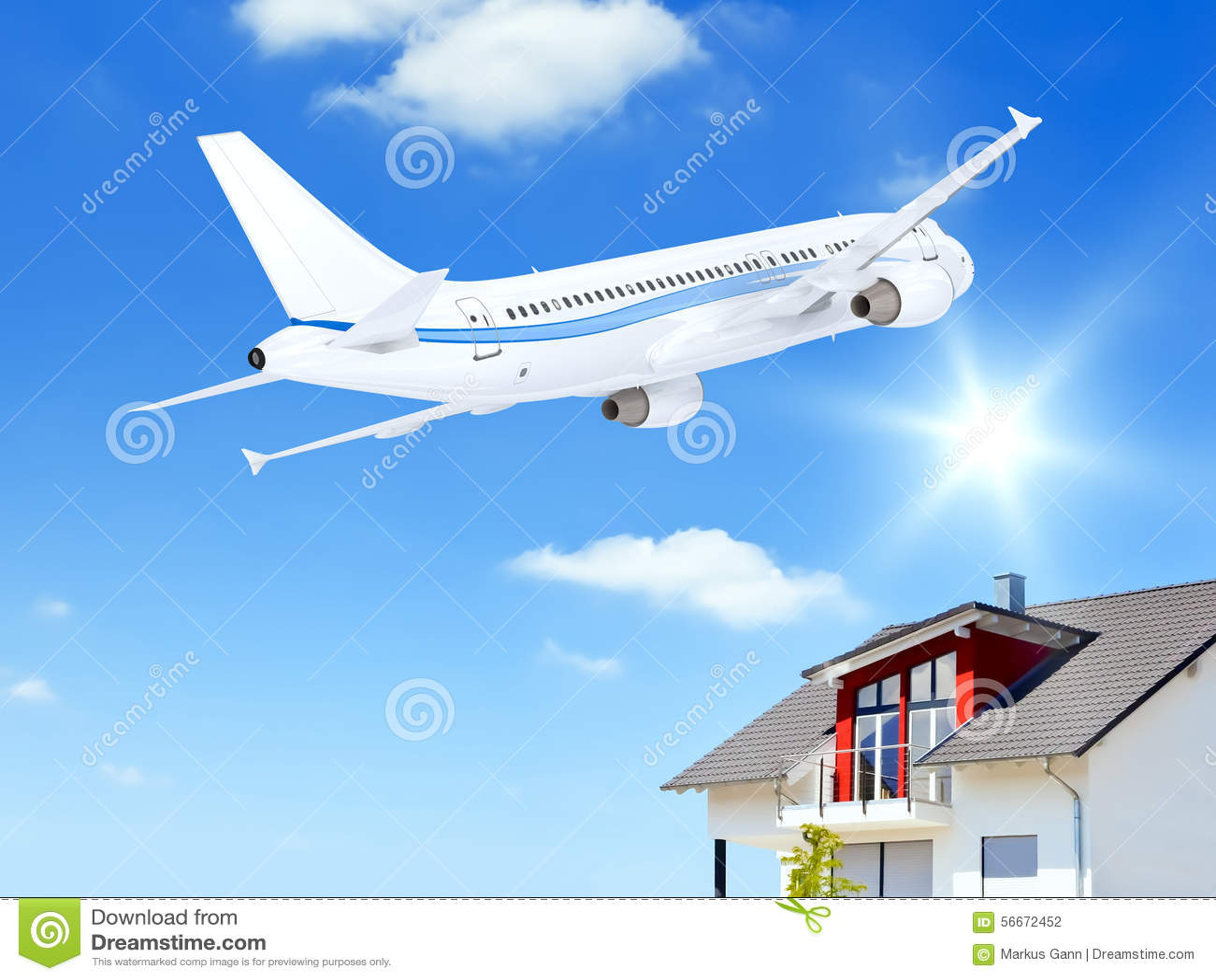 дом самолета сверх