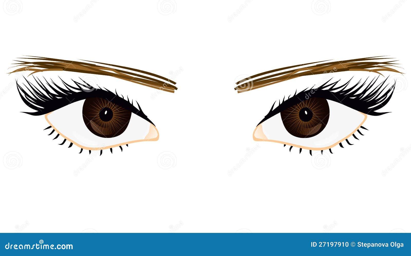 Она глаза