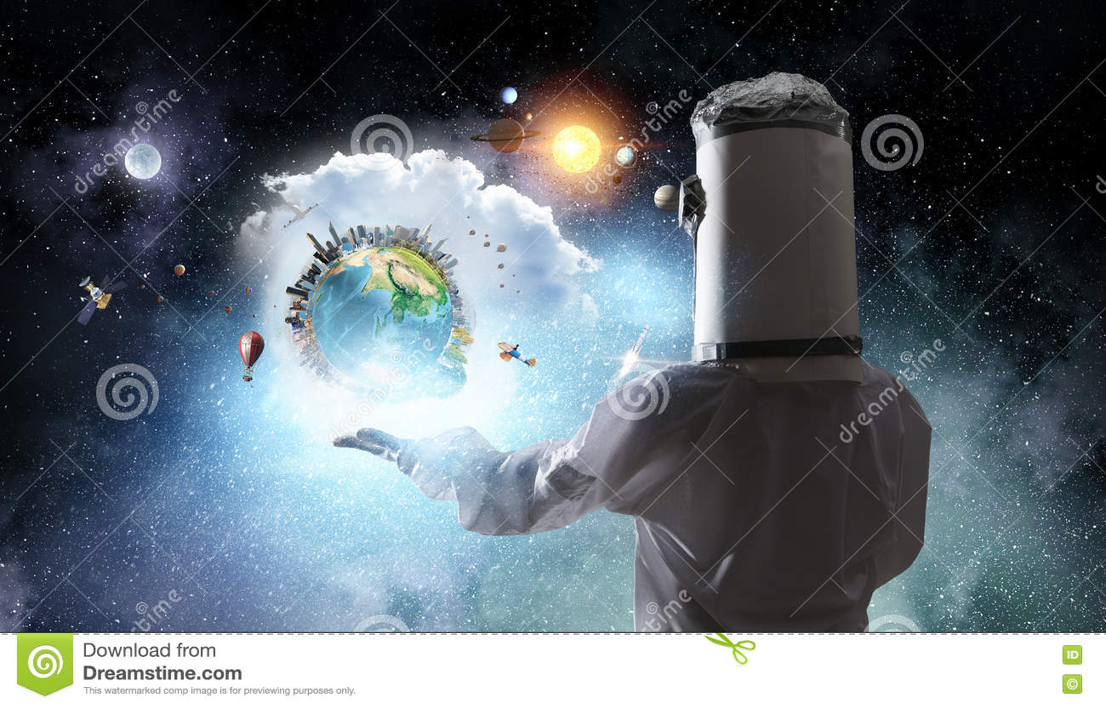Она мечтает для того чтобы исследовать космос Мультимедиа