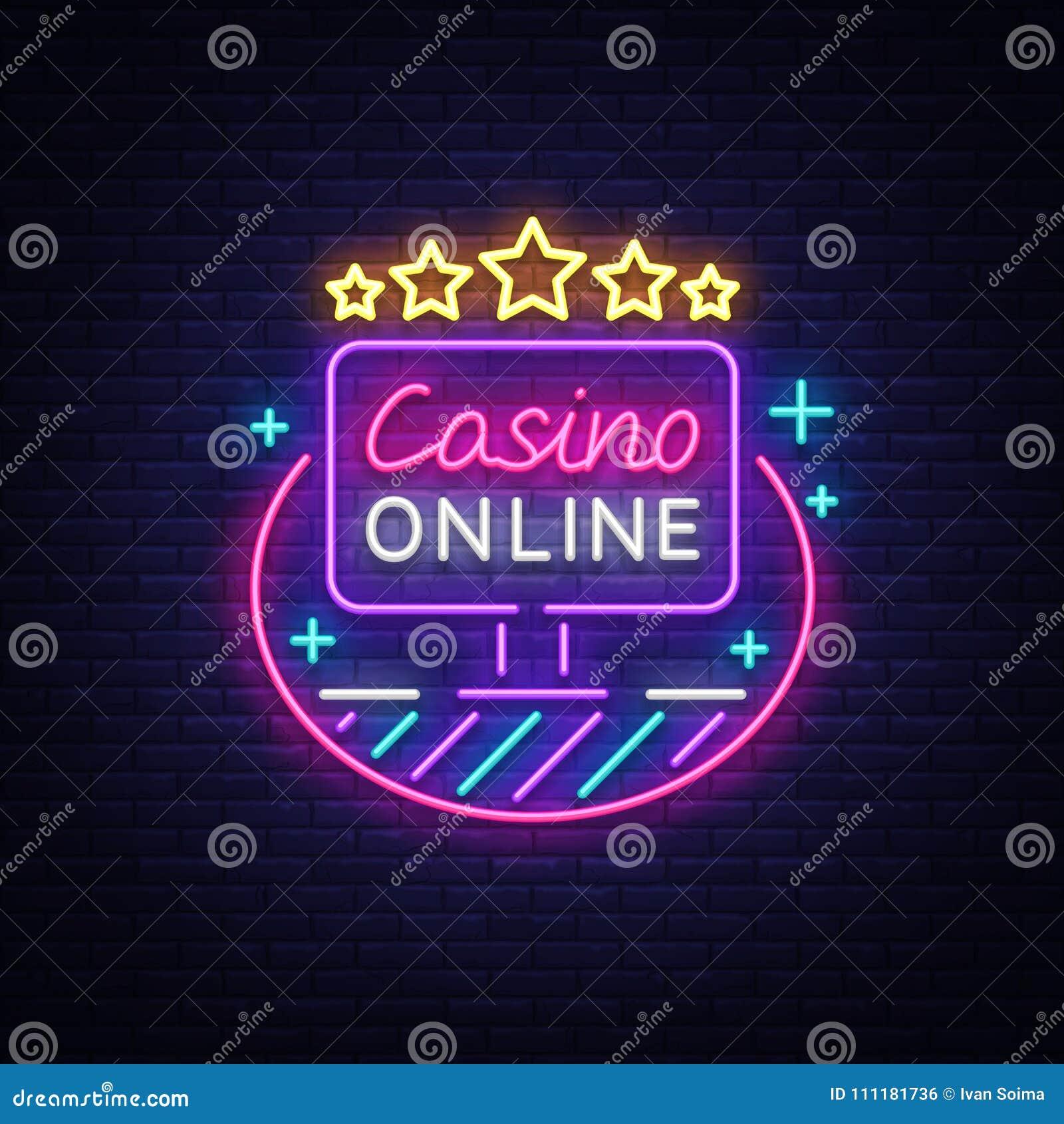 Неоновая вывеска казино онлайн сериал казино
