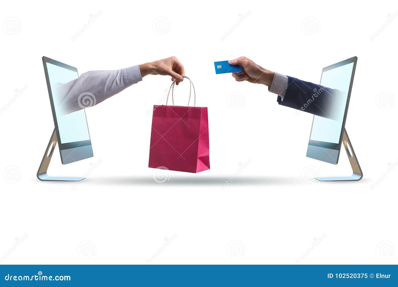 Онлайн покупки через покупать от интернета