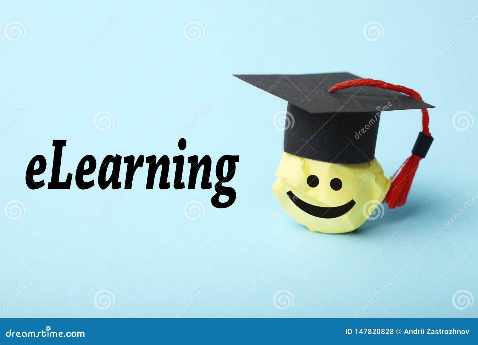 Онлайн учить, концепция образования интернета Технология цифров webinar ELearning