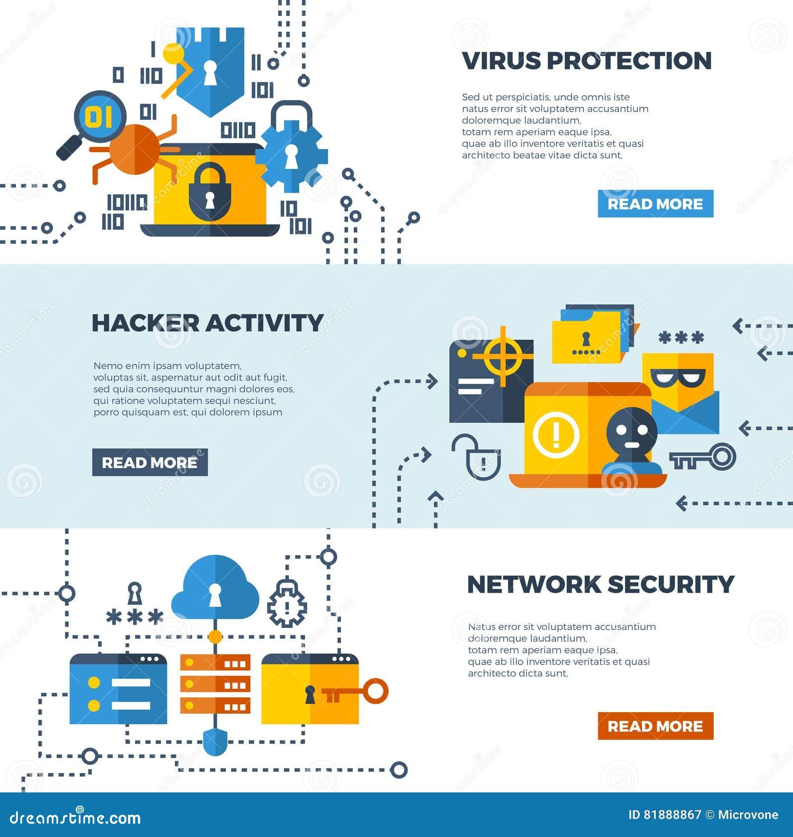 Онлайн защита связи, установленные знамена сети вектора предохранения от компьютера