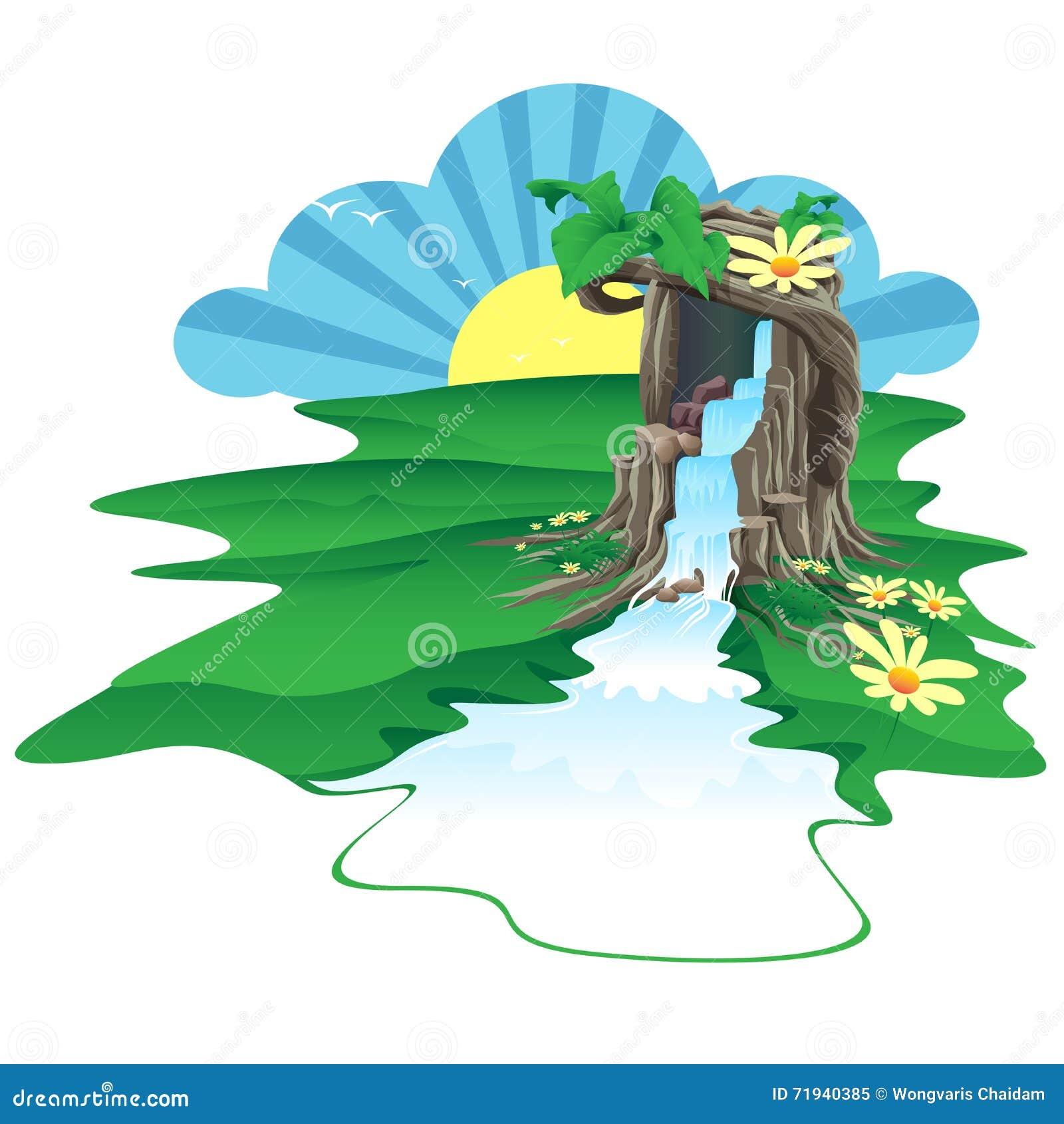 Он дерево был источником воды