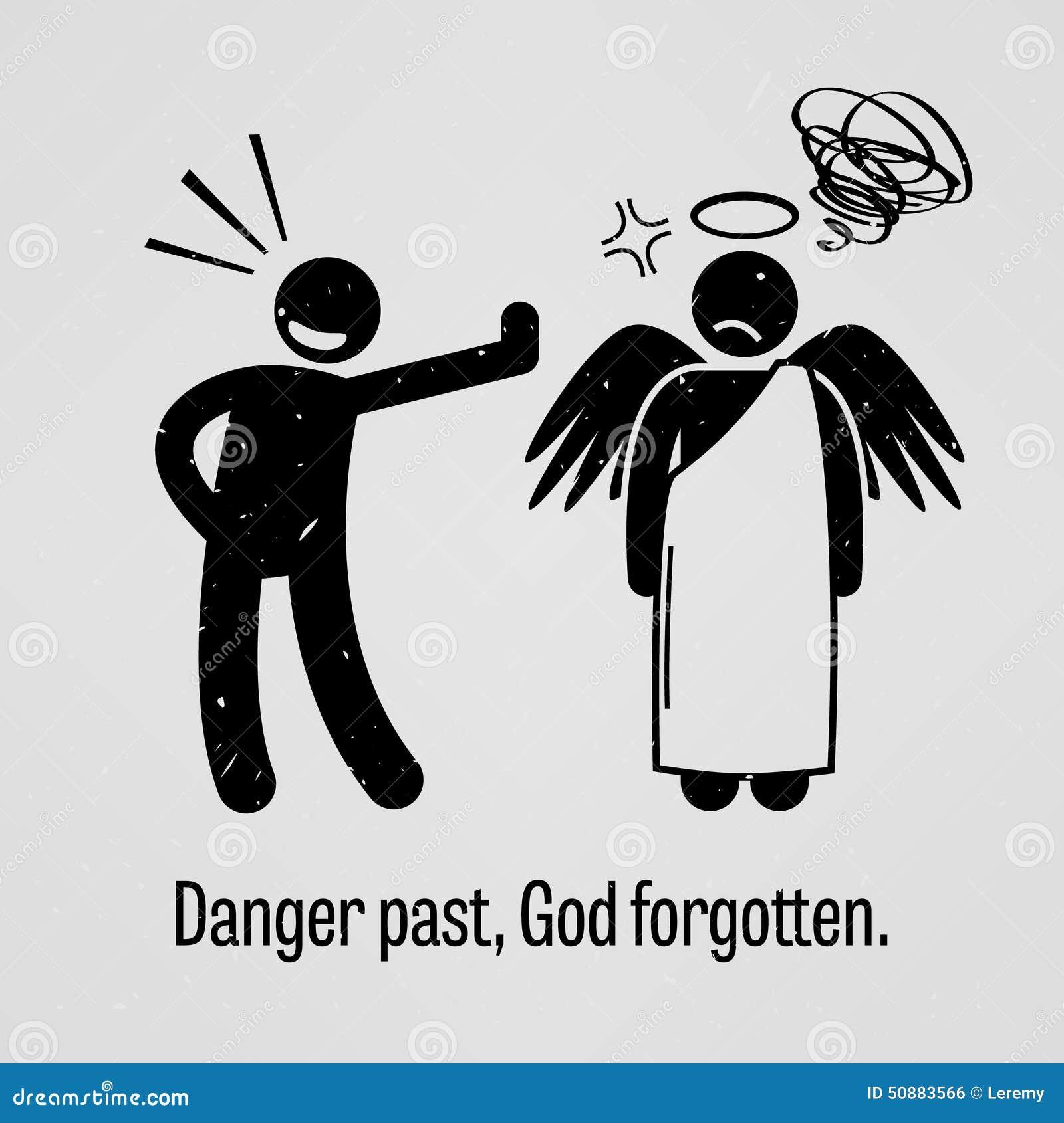 Опасность в прошлом, забытый бог