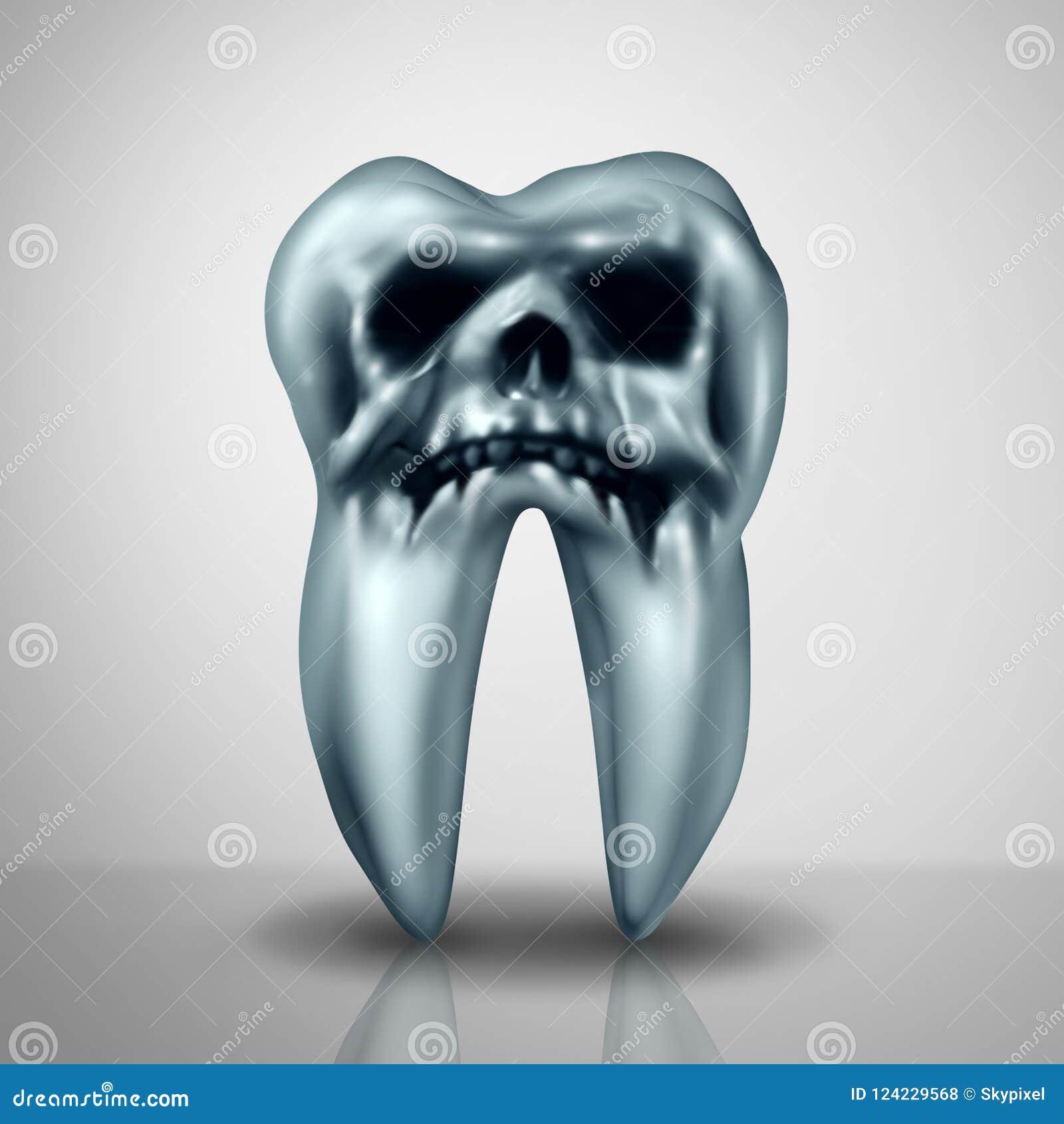 Опасность заболеванием спада зуба