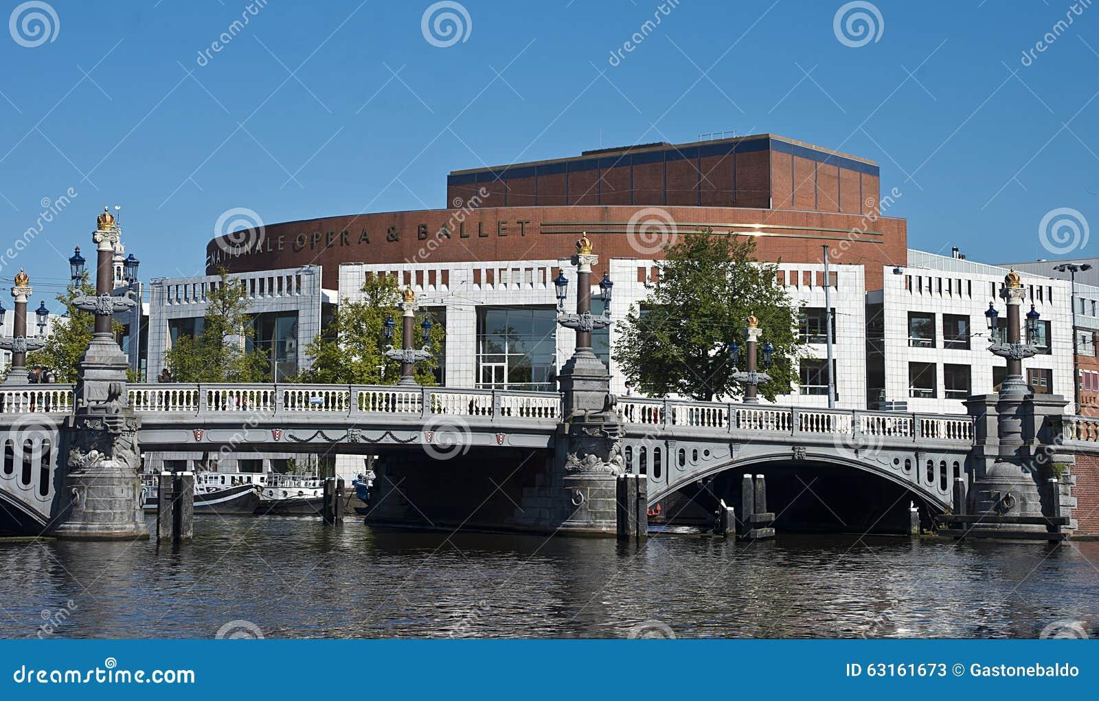 Опера UDutch национальные и балет, Амстердам, Нидерланды