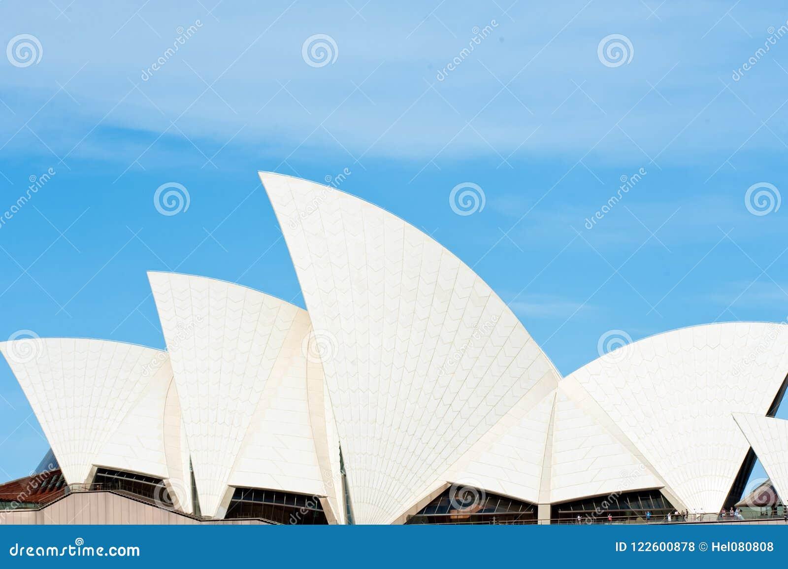 Оперный театр Сиднея, деталь крыши