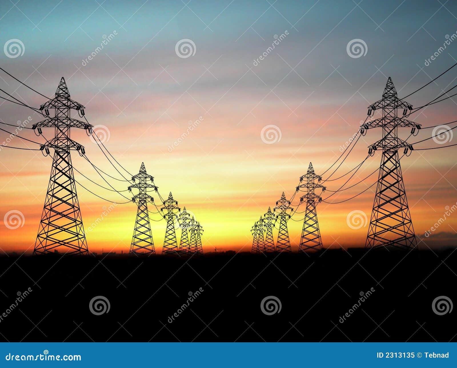 опоры электричества