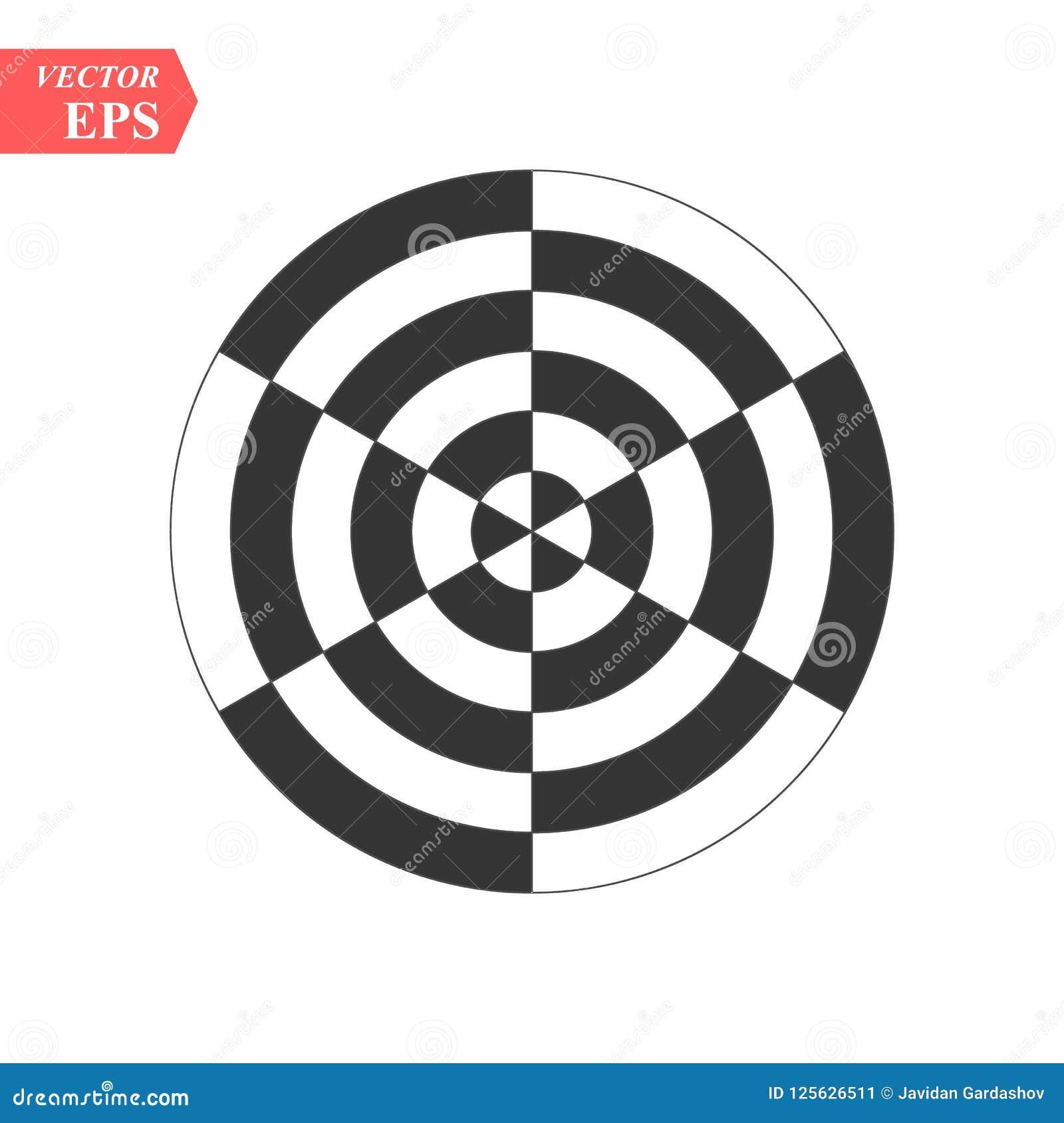 Оптически картина искусства с striped линиями и кругами Абстрактная психоделическая иллюзия предпосылка искусства op