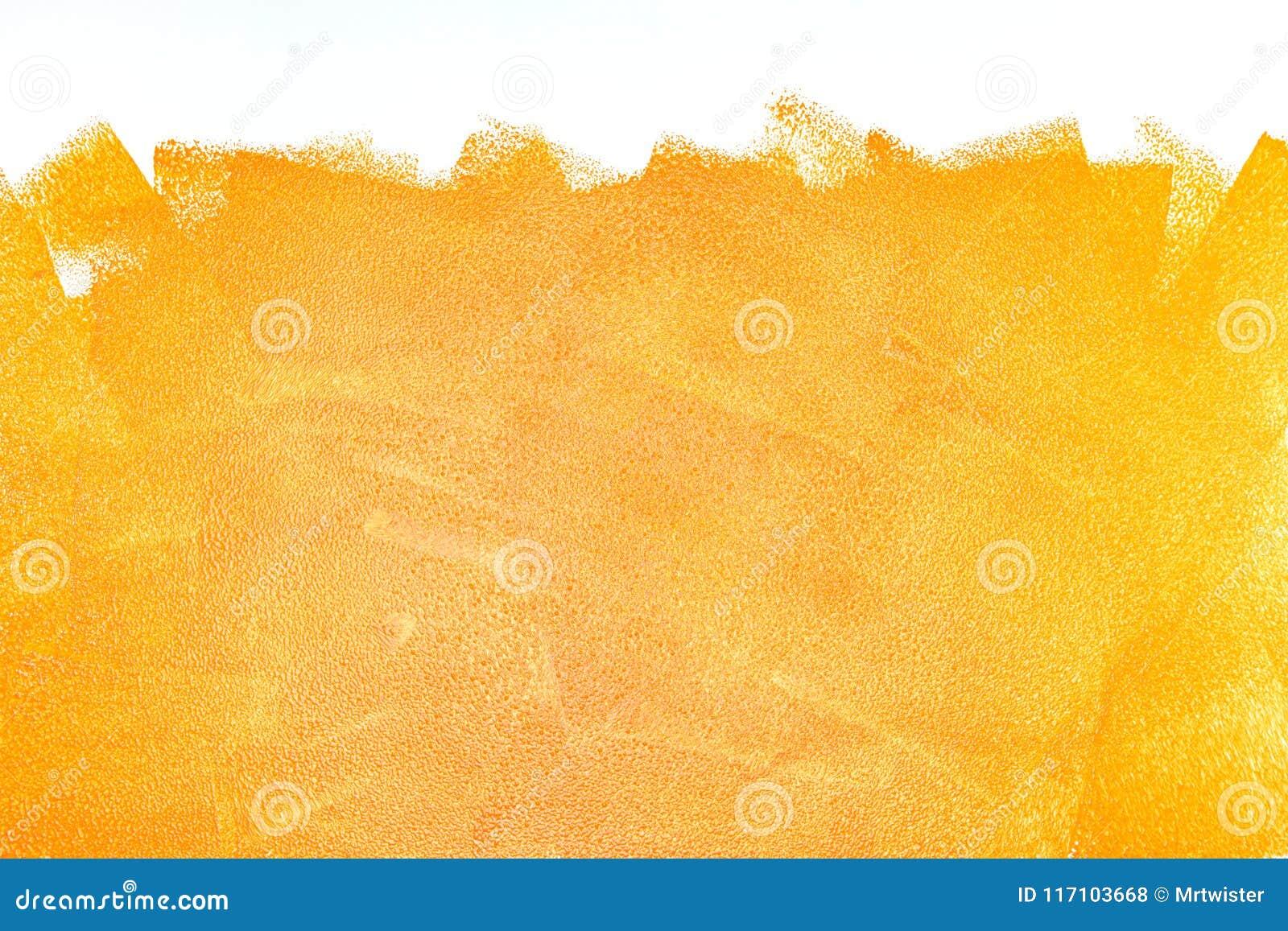 Оранжевые ходы ролика акрила на белизне