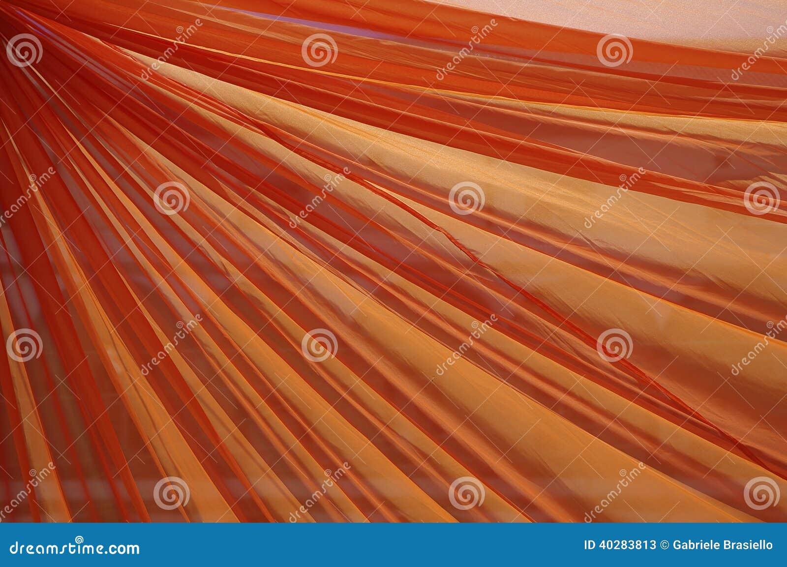 Оранжевый занавес