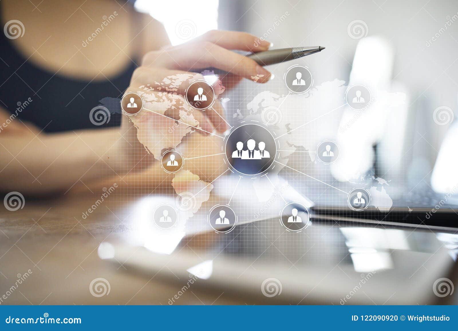 Организационная структура людей Hr Человеческие ресурсы и рекрутство Сообщение, технология интернета владение домашнего ключа при