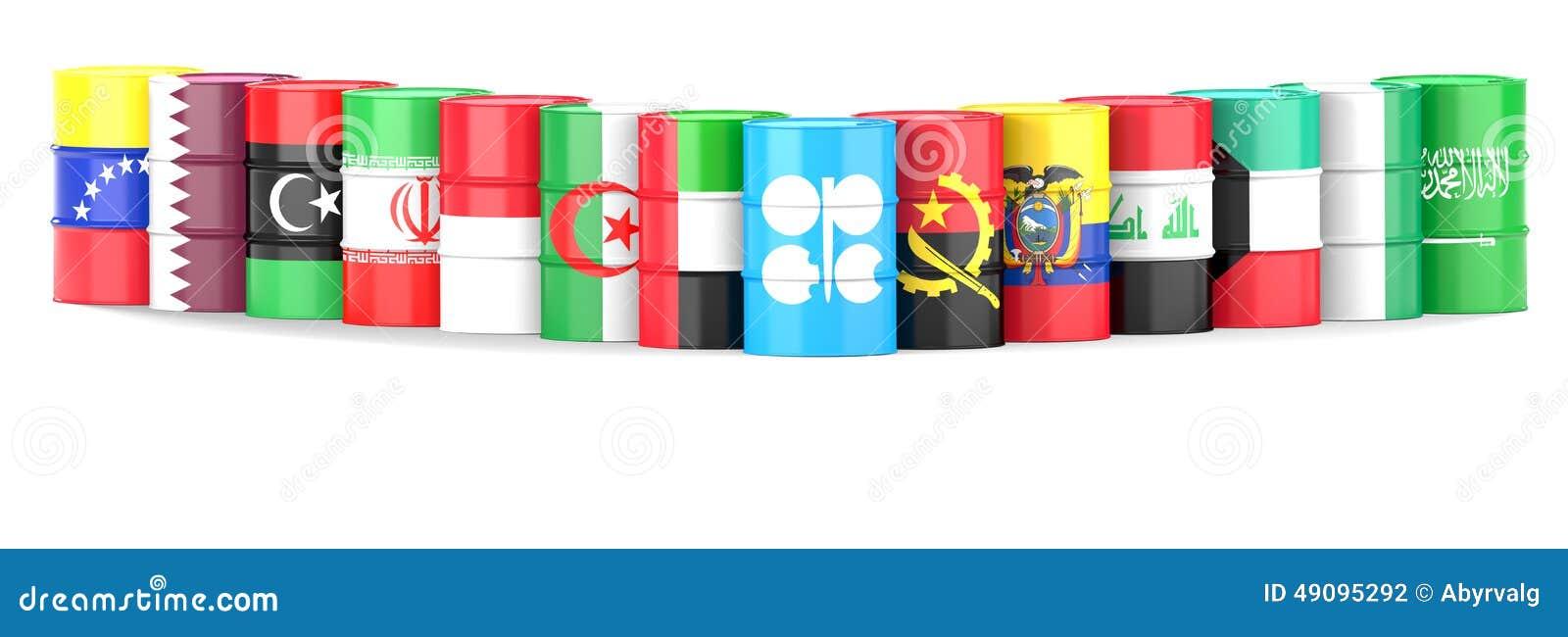 Организация флагов и масла страна-экспортеров нефти