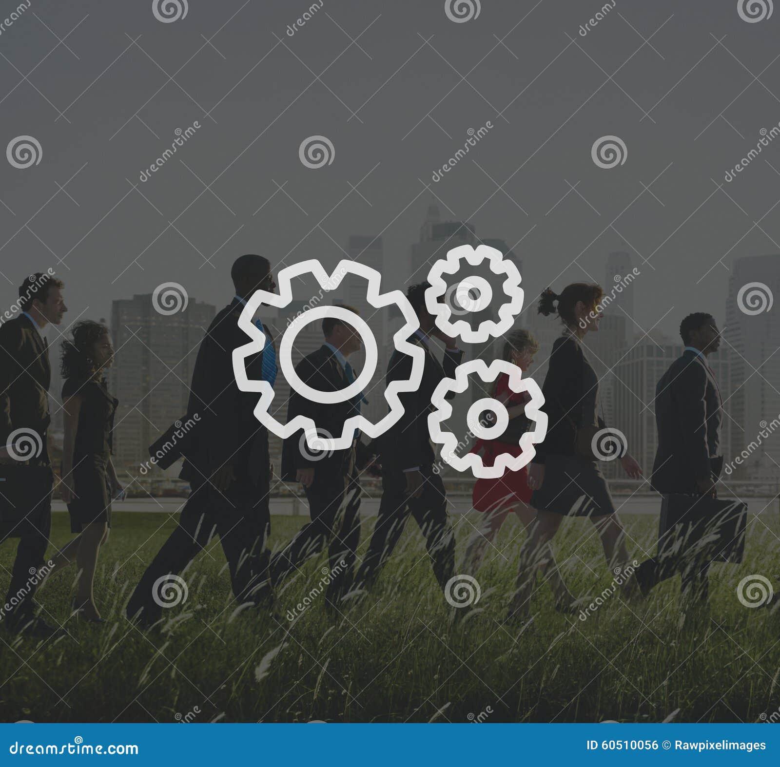 Организация шестерни соединения сотрудничества команды сыгранности