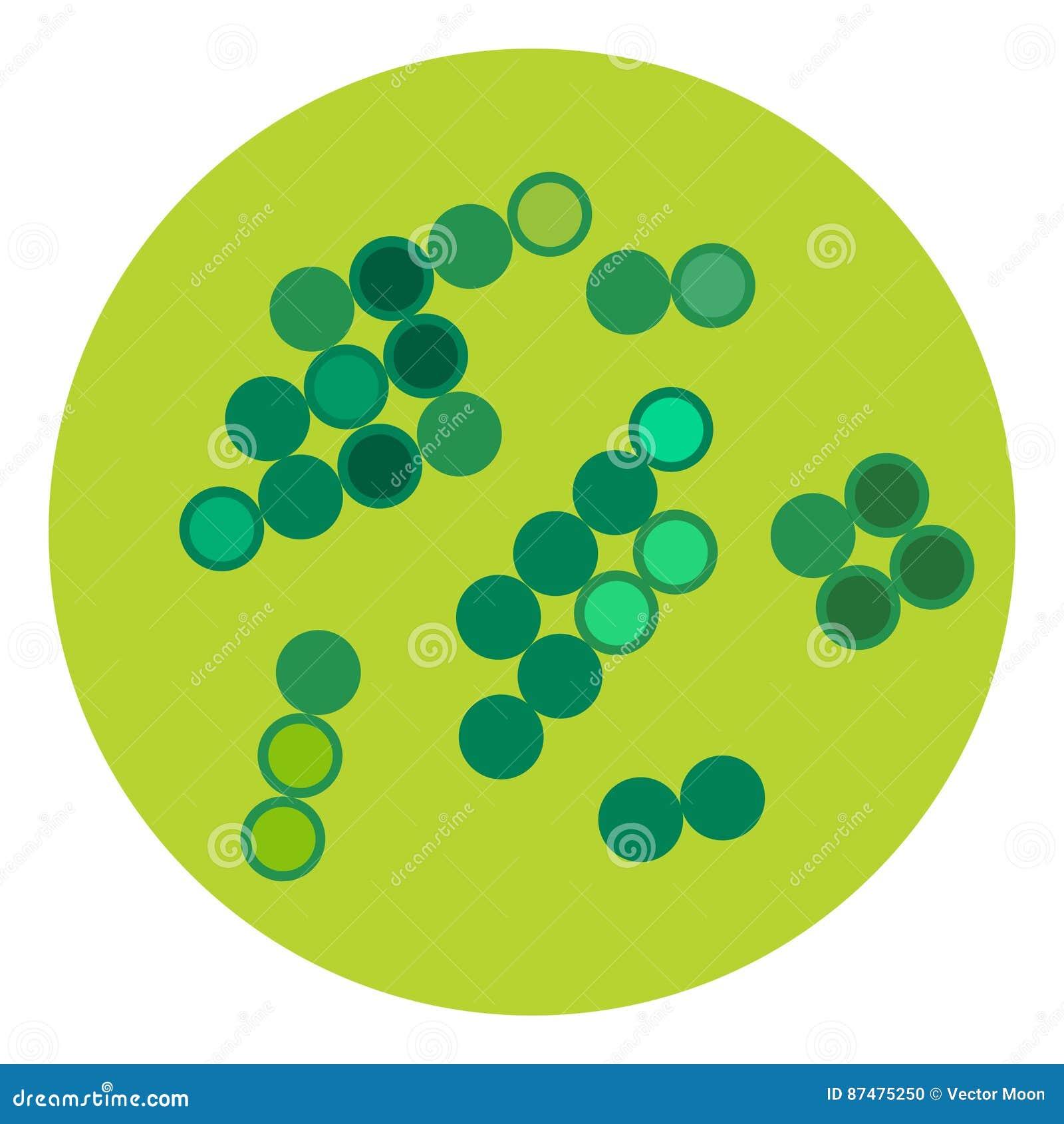 Организм микробиологии значка микробов вируса бактерий микроскопические изолированные человеческие и болезнь биологии инфекции ме