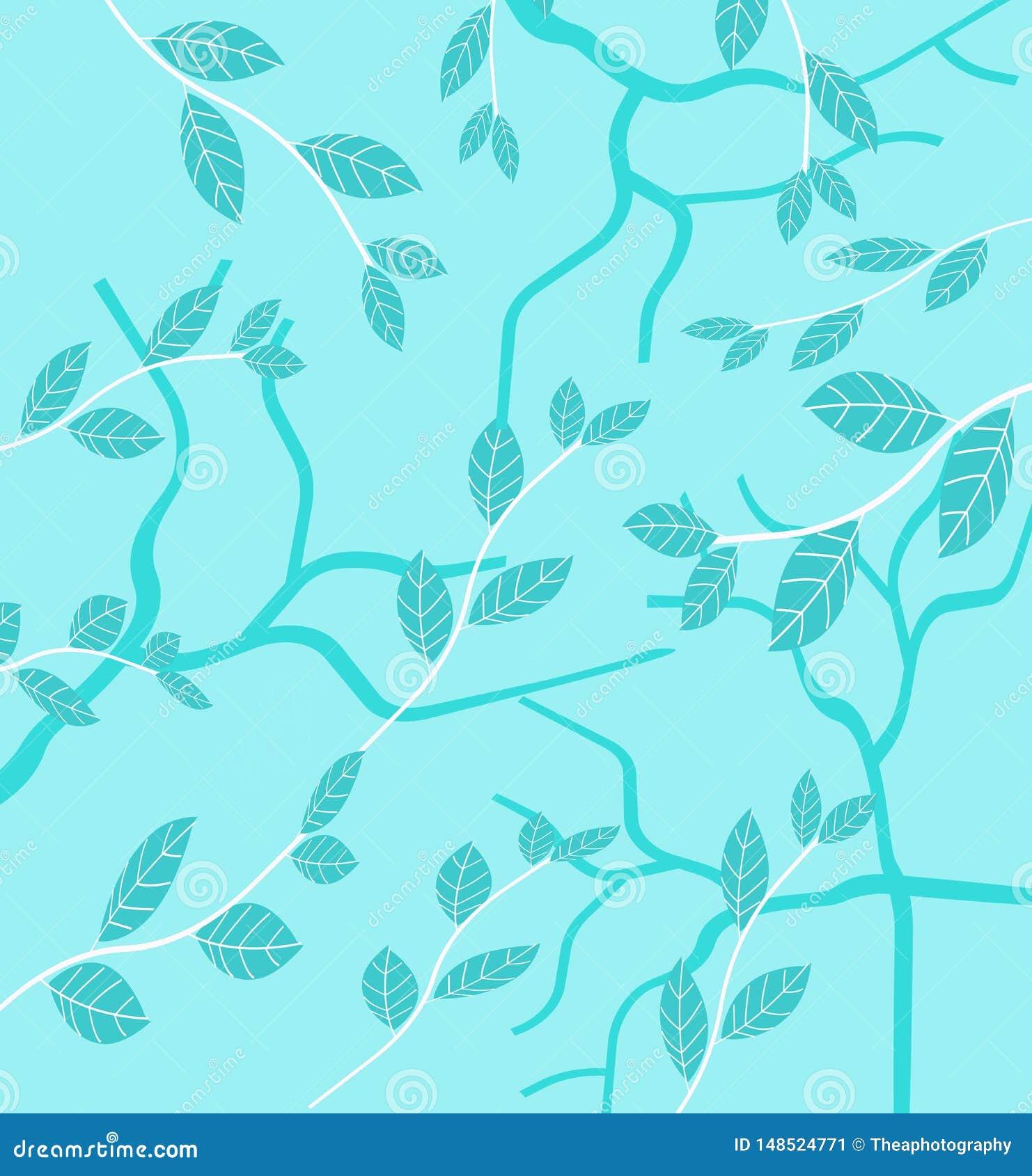 Органическая картина листьев