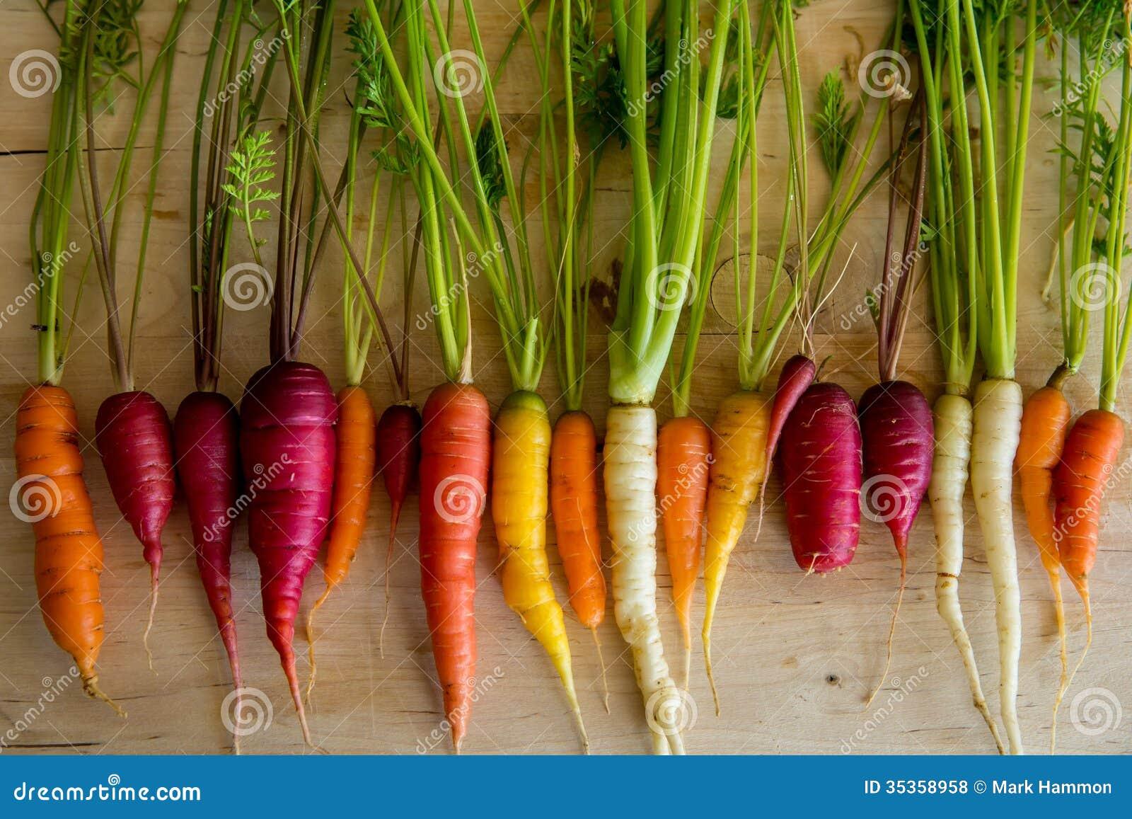 Органические моркови