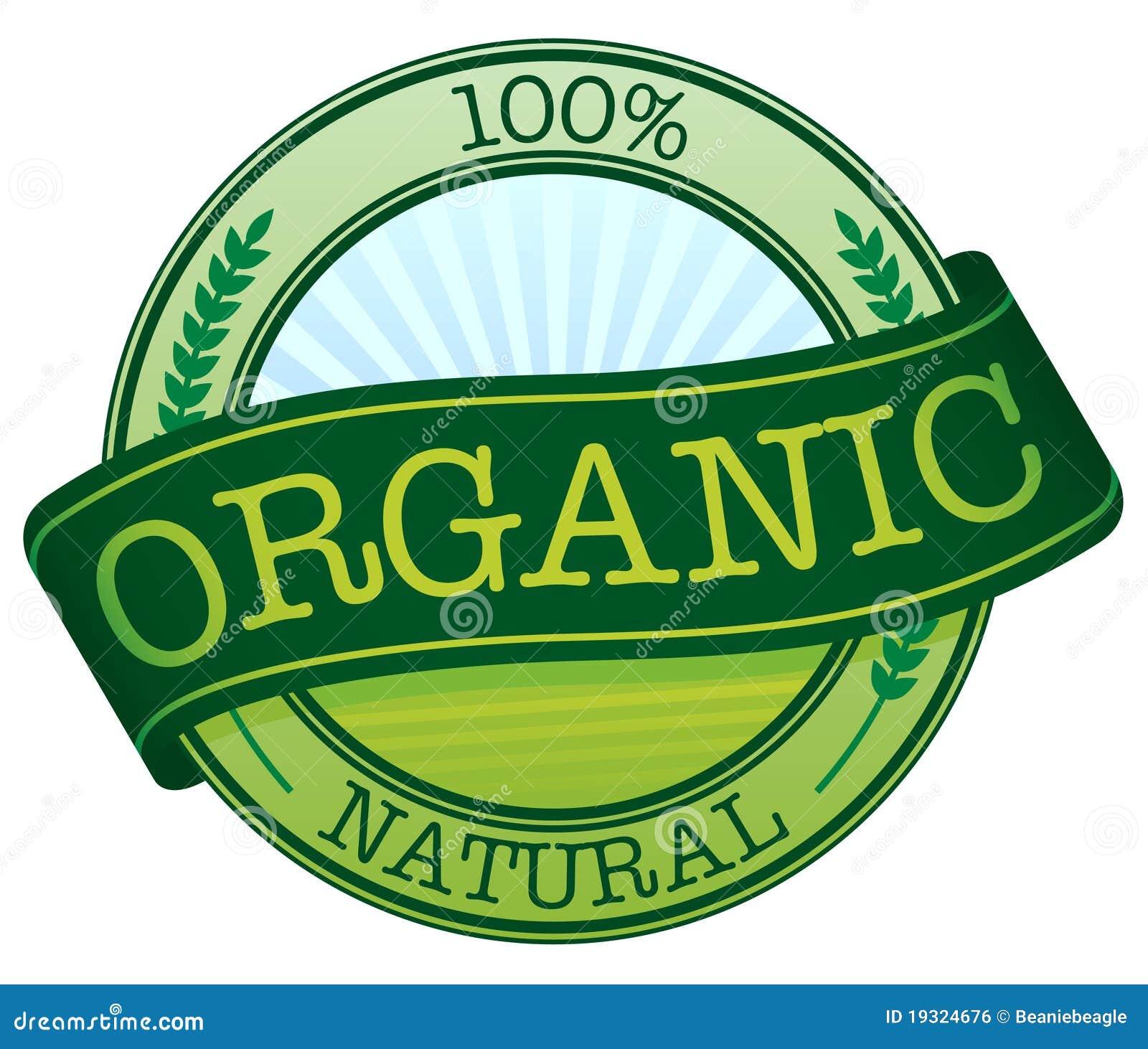 органический стикер