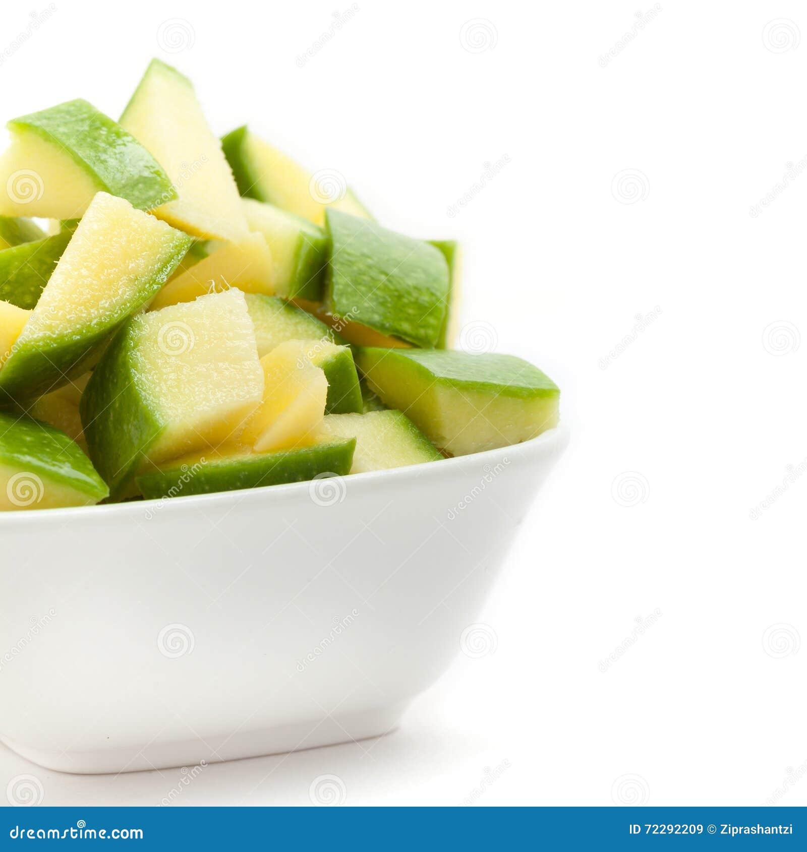 Download Органическое отрезанное индийское манго (Mangifera Indica) Стоковое Изображение - изображение насчитывающей мангоы, утюг: 72292209
