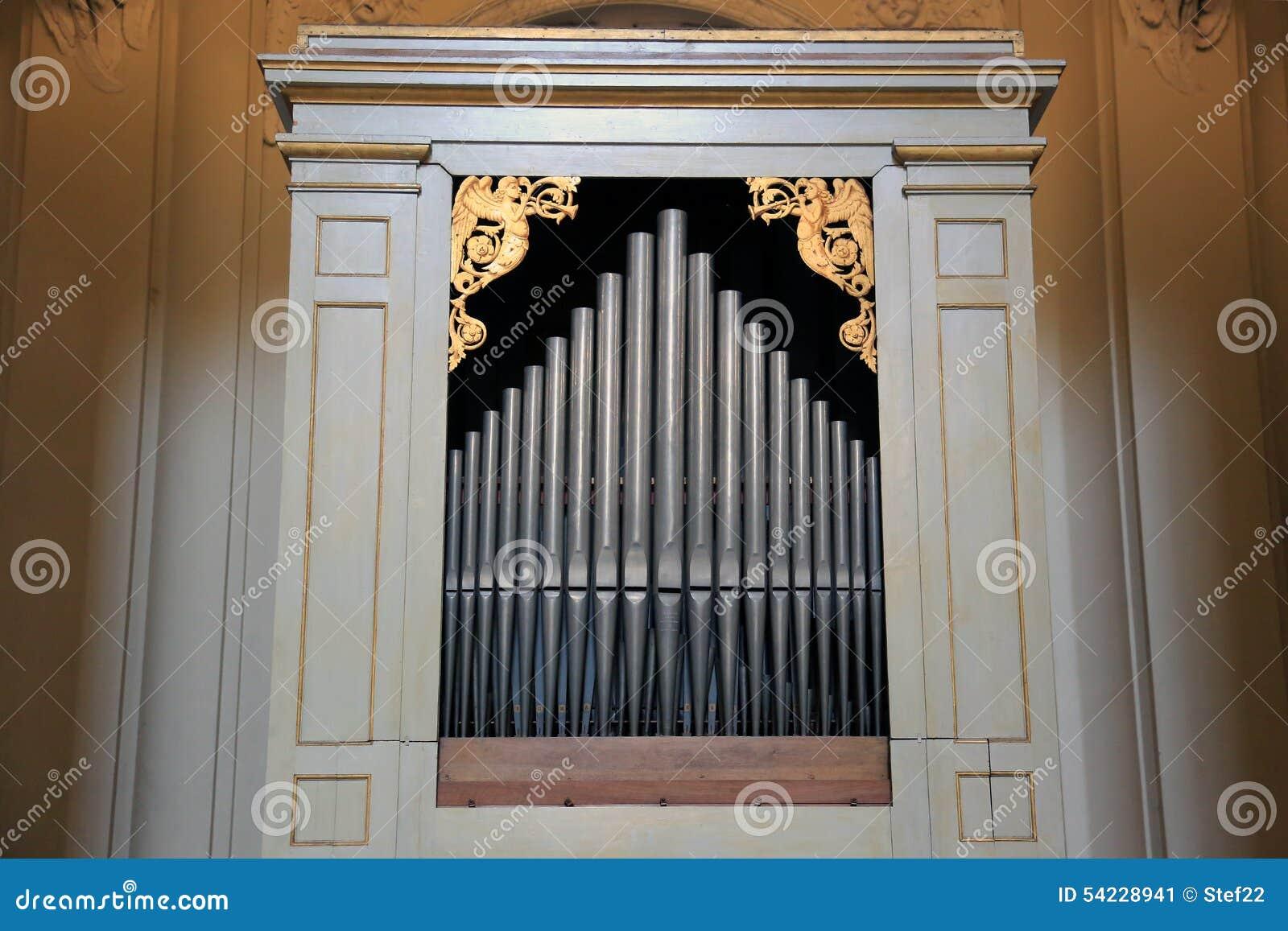 Орган трубы