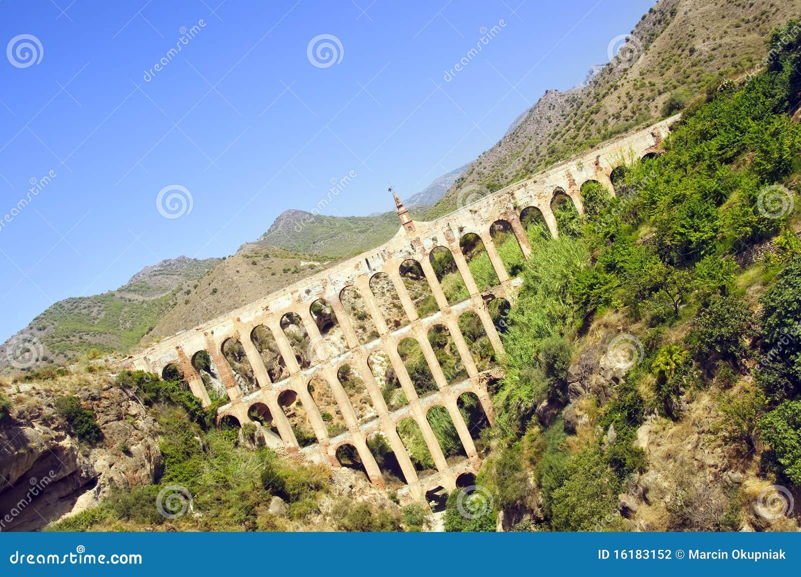 орел nerja Испания мост-водовода andalusia