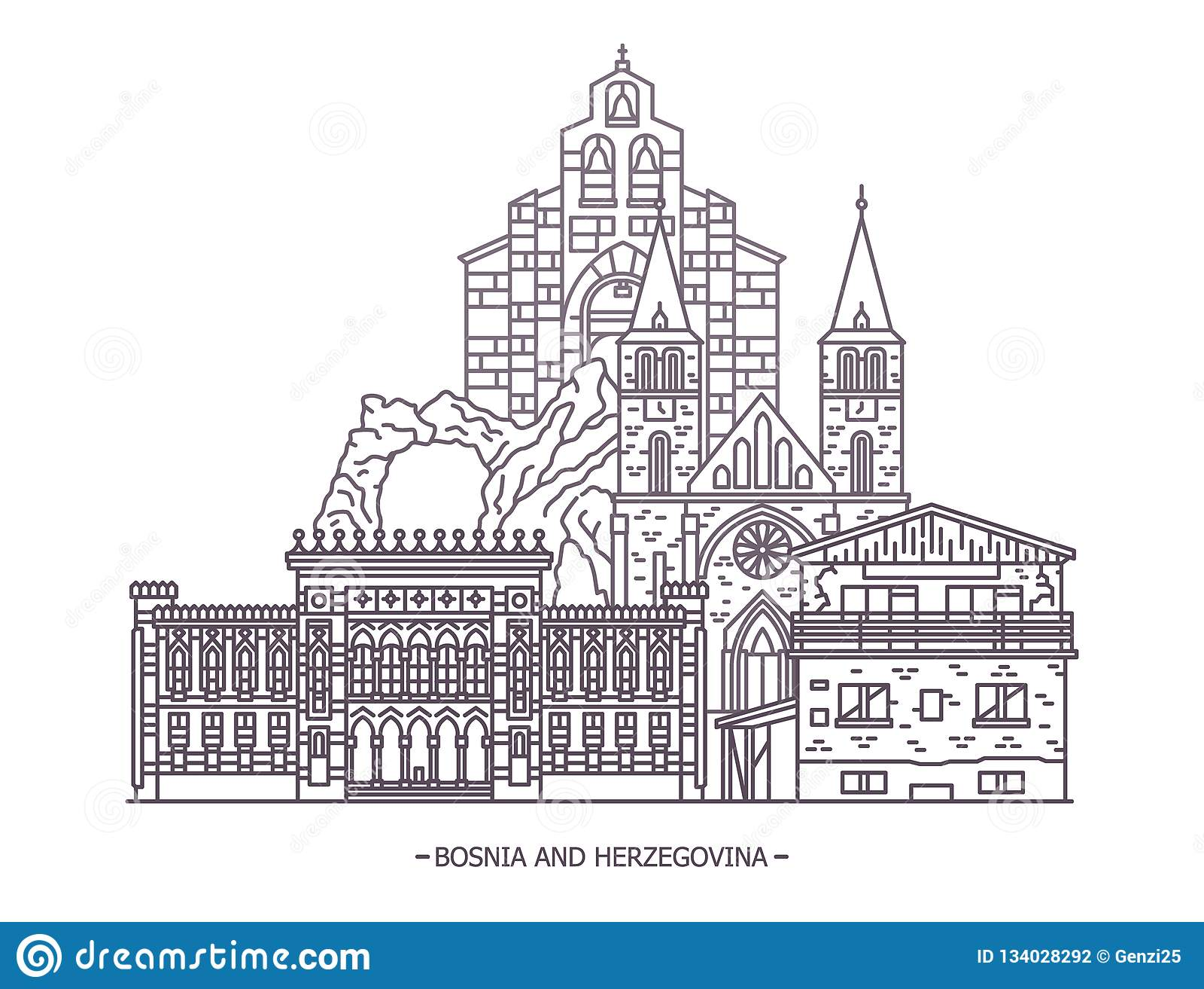 Ориентир ориентиры Босния и Герцеговина