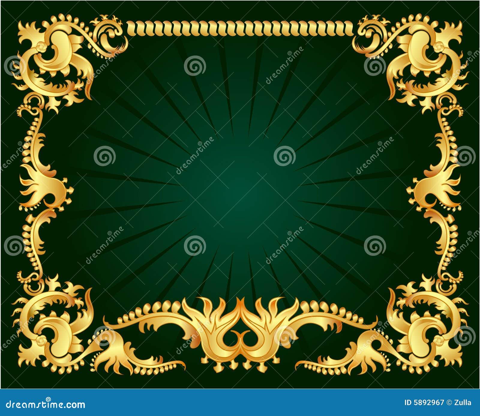 орнамент золота