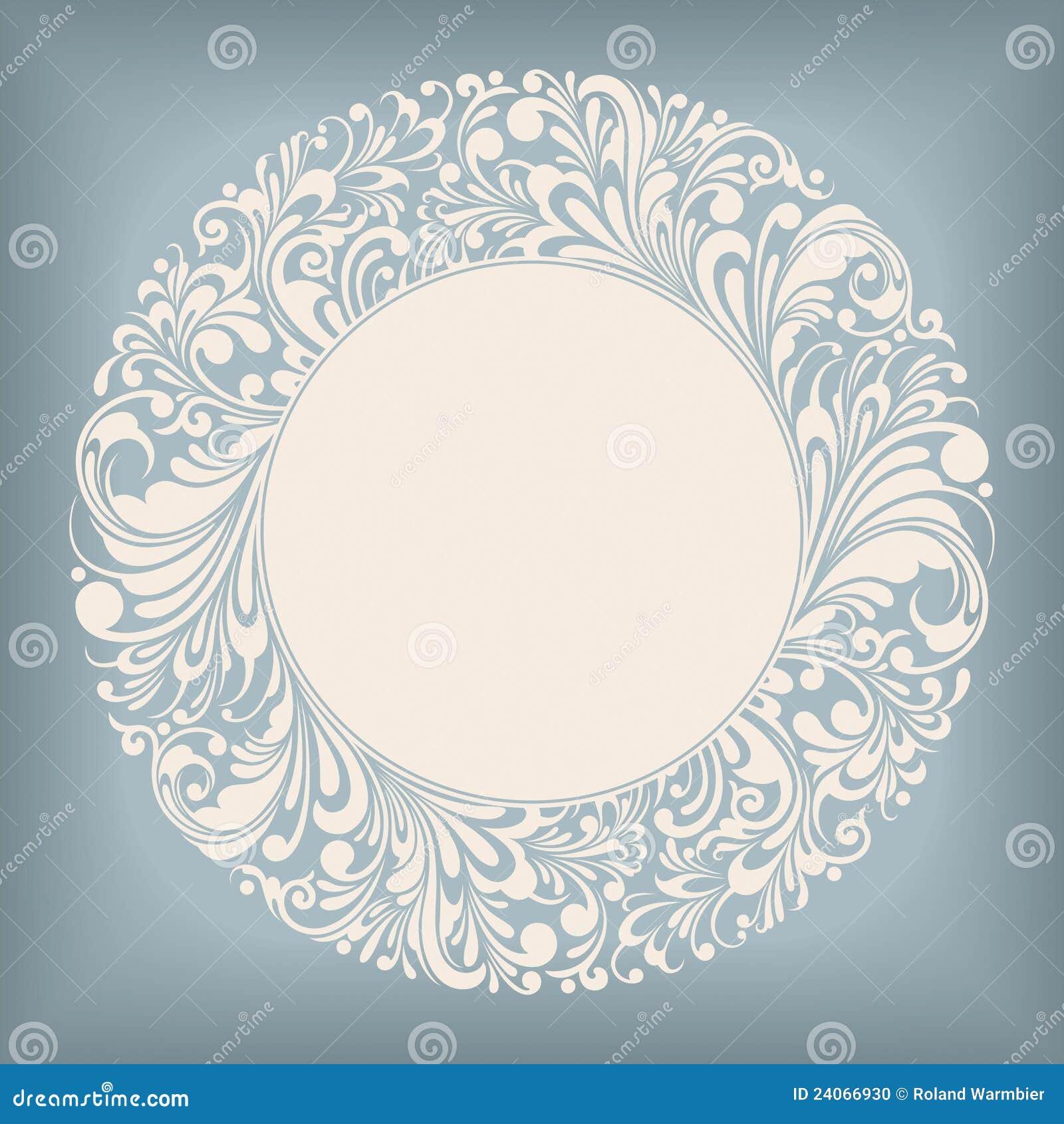 орнамент ярлыка круга