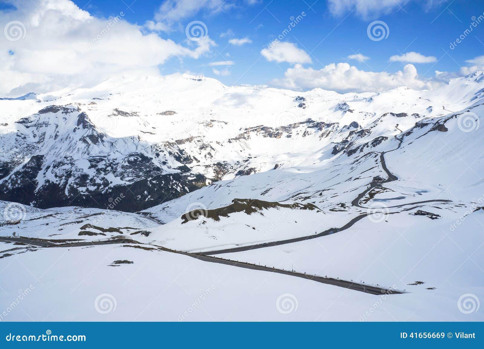 дорога высокой горы