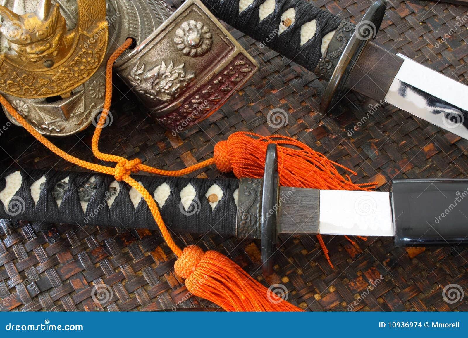 оружия самураев