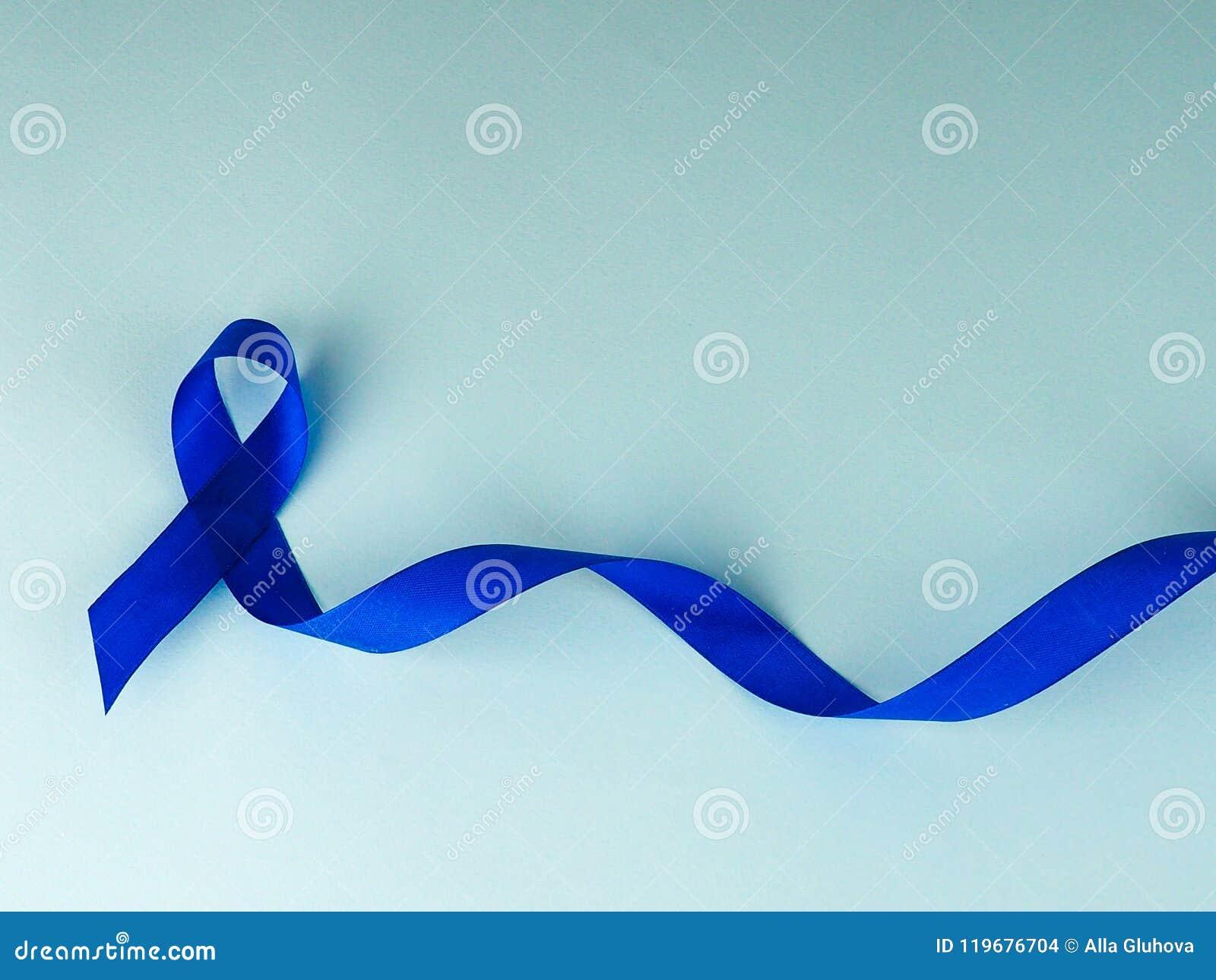Осведомленность голубой ленты Рак толстой кишки, колоректальная Карцинома, осведомленность насилия над ребенком, день диабета мир
