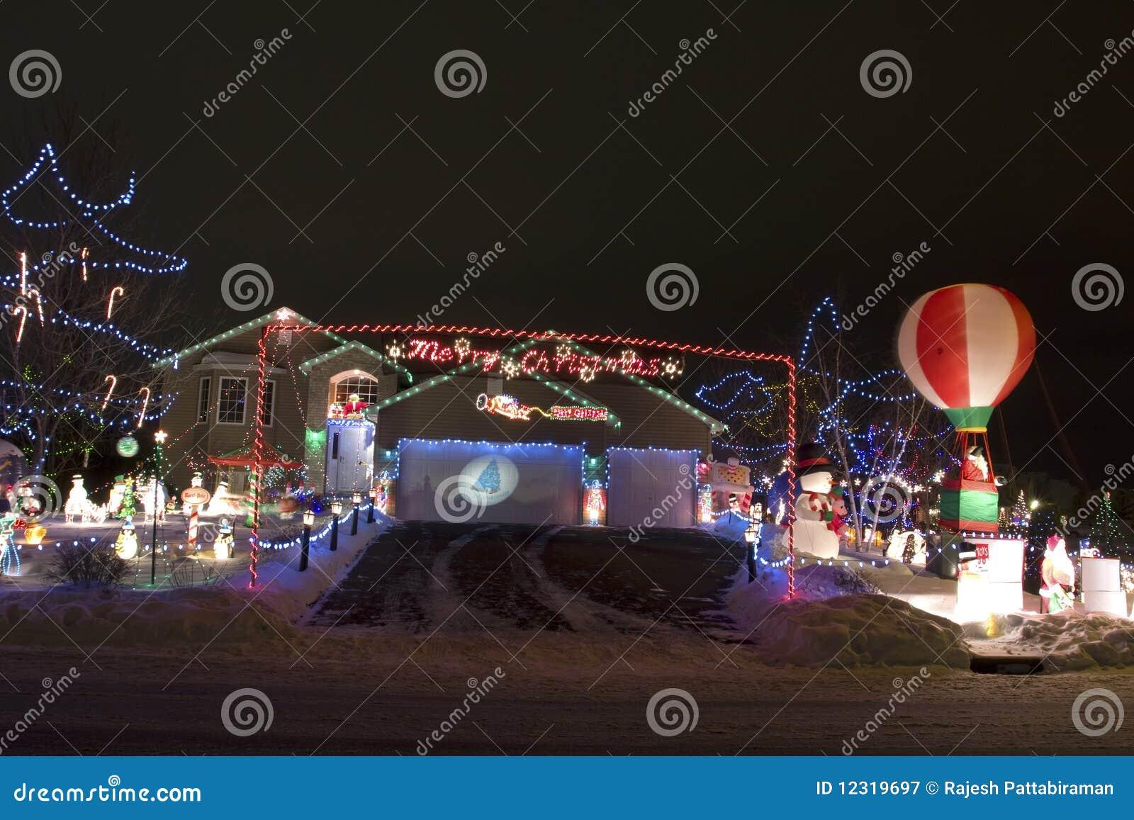 освещение рождества
