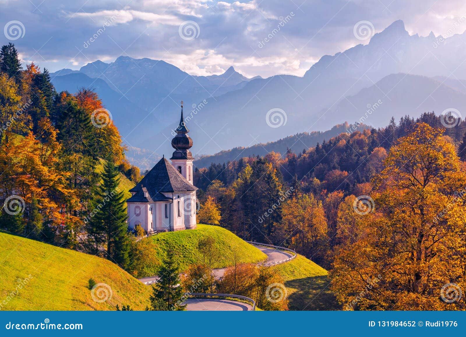 Осень в альп