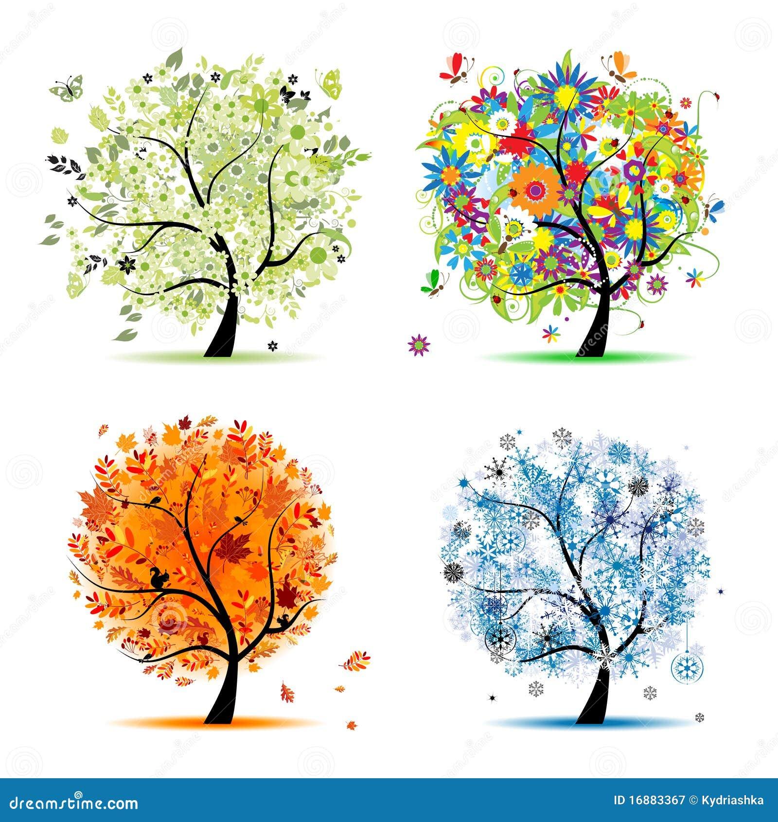 Картинки рябины зимой весной и осенью
