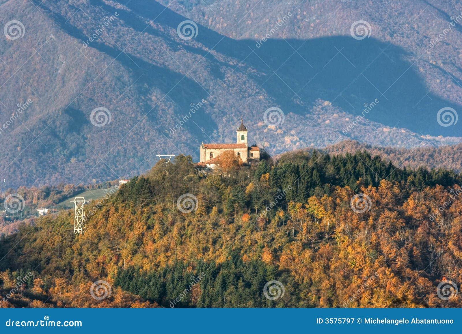 осень Италия