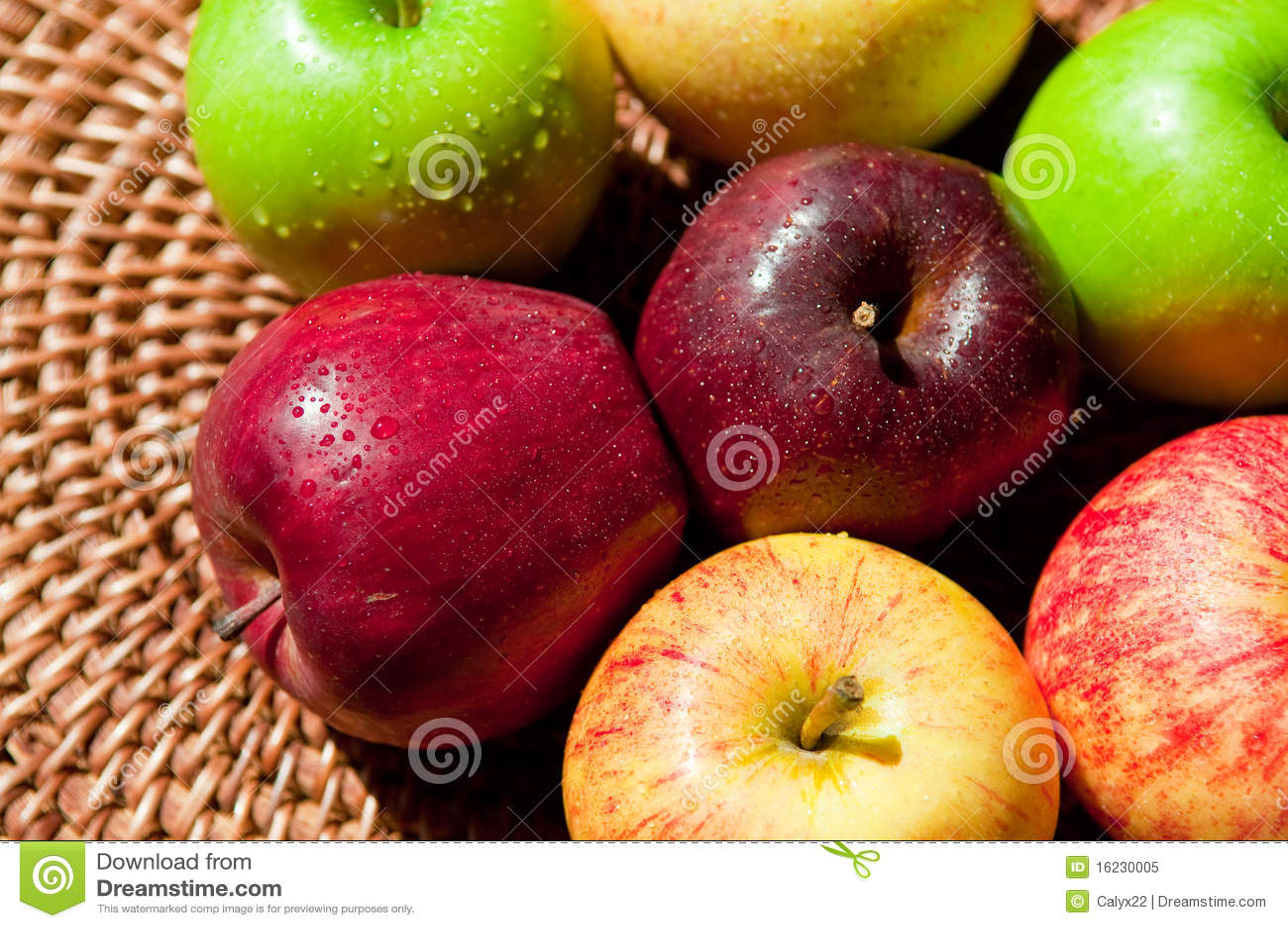 осень яблок