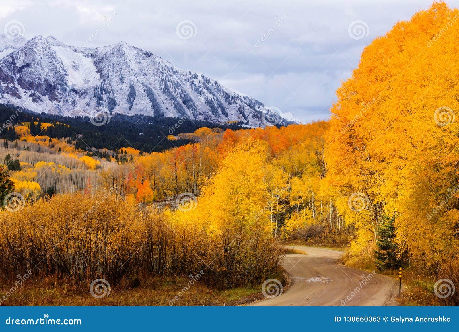 осень colorado